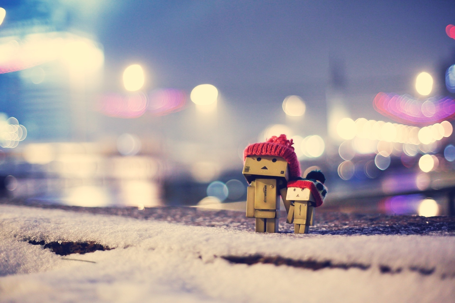 Sweet Cute Wallpapers 240x320 Danbo In Winter Dress Hd Cute 4k Wallpapers Images