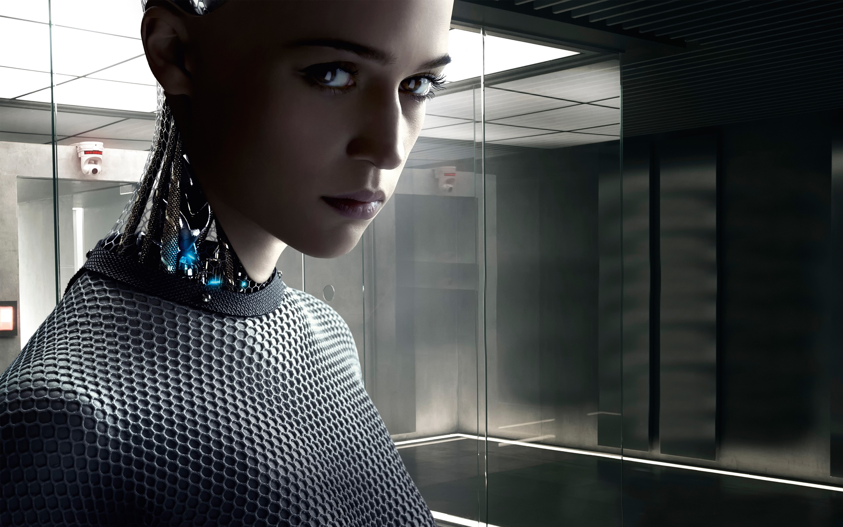 Cute Girls Dresess Cute Anime Wallpaper Hd Ex Machina 2015 Movie Hd Movies 4k Wallpapers Images