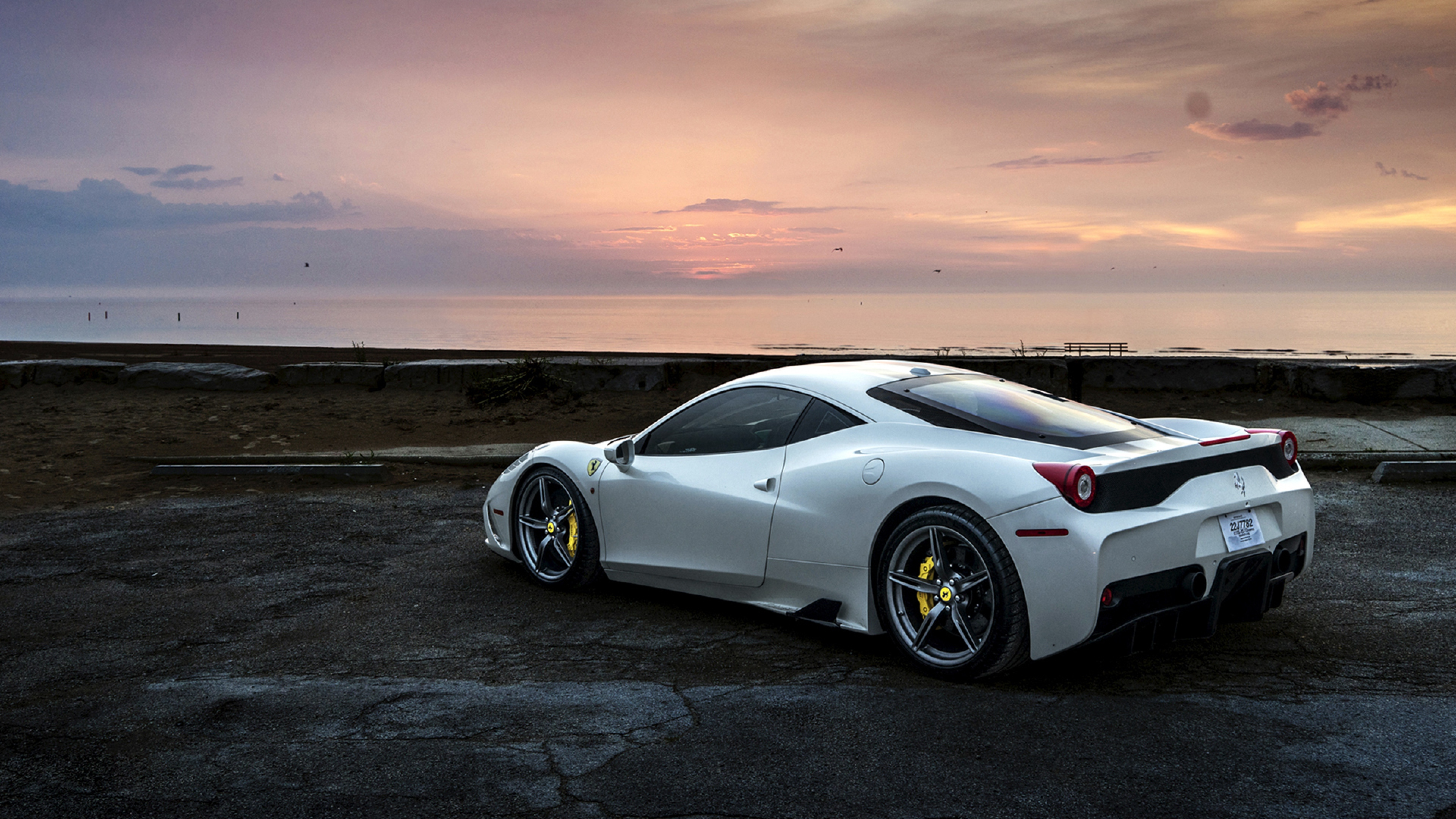 Car Wallpaper 720x1280 Ferrari 458 White Hd Cars 4k Wallpapers Images