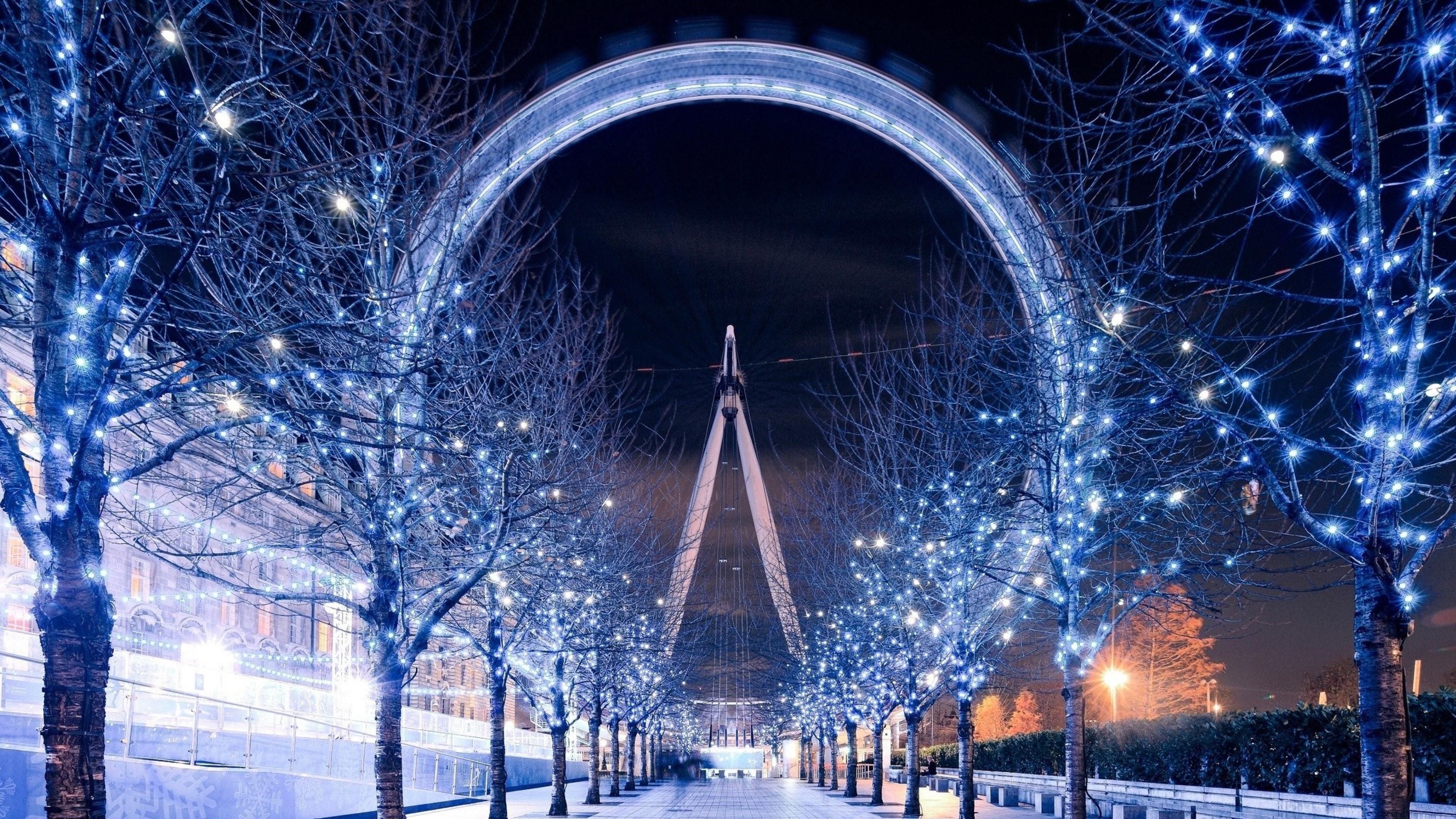 4k Wallpaper 3d 3840x2400 Ferris Wheel London Hd World 4k Wallpapers Images
