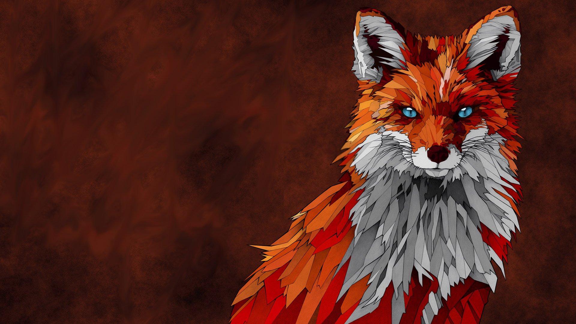 Abstract Fox Art Fox Artwork Hd Artist 4k Wallpapers Images Backgrounds