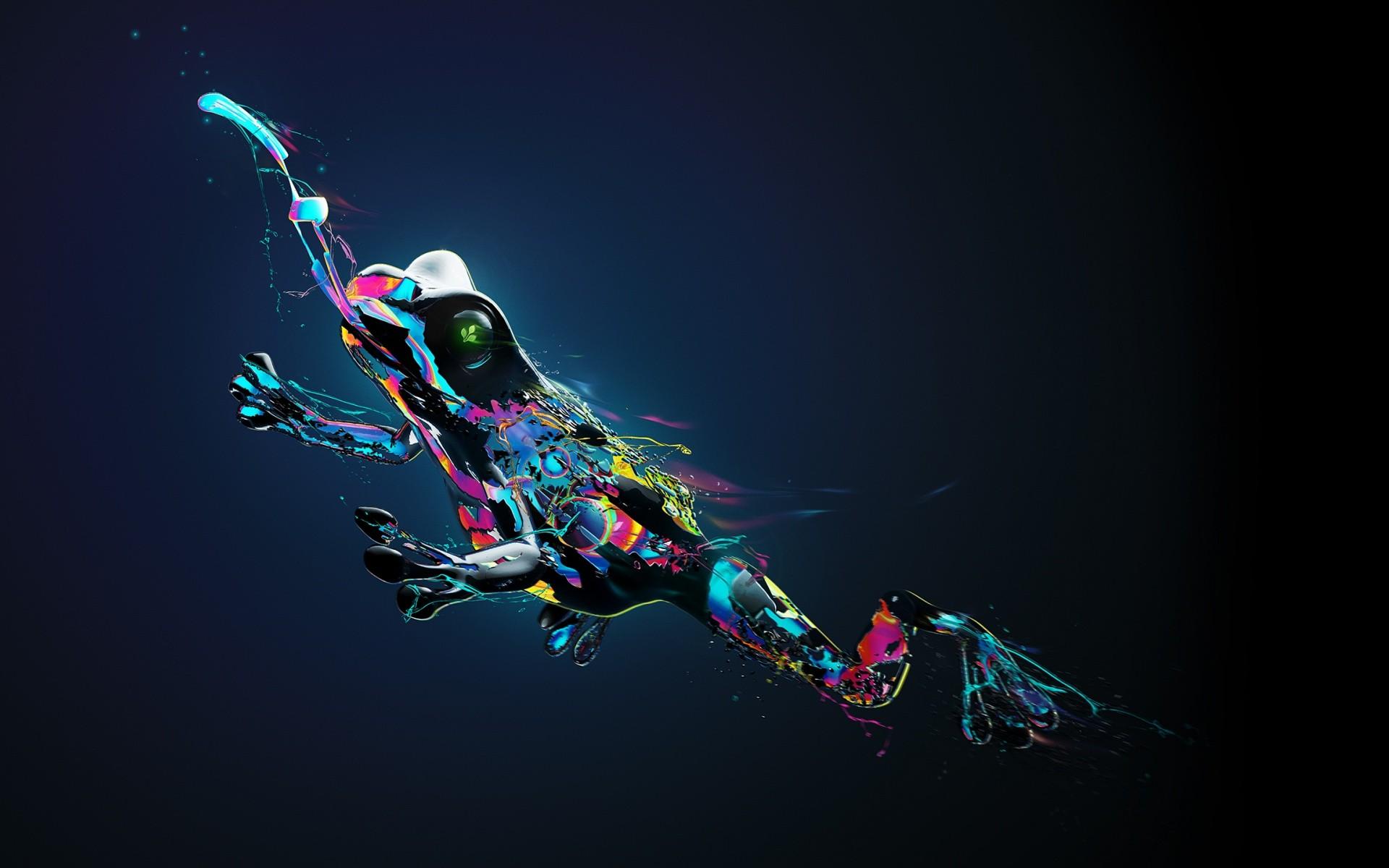 Dmt Wallpaper Hd Frog Fantasy Art Hd Artist 4k Wallpapers Images