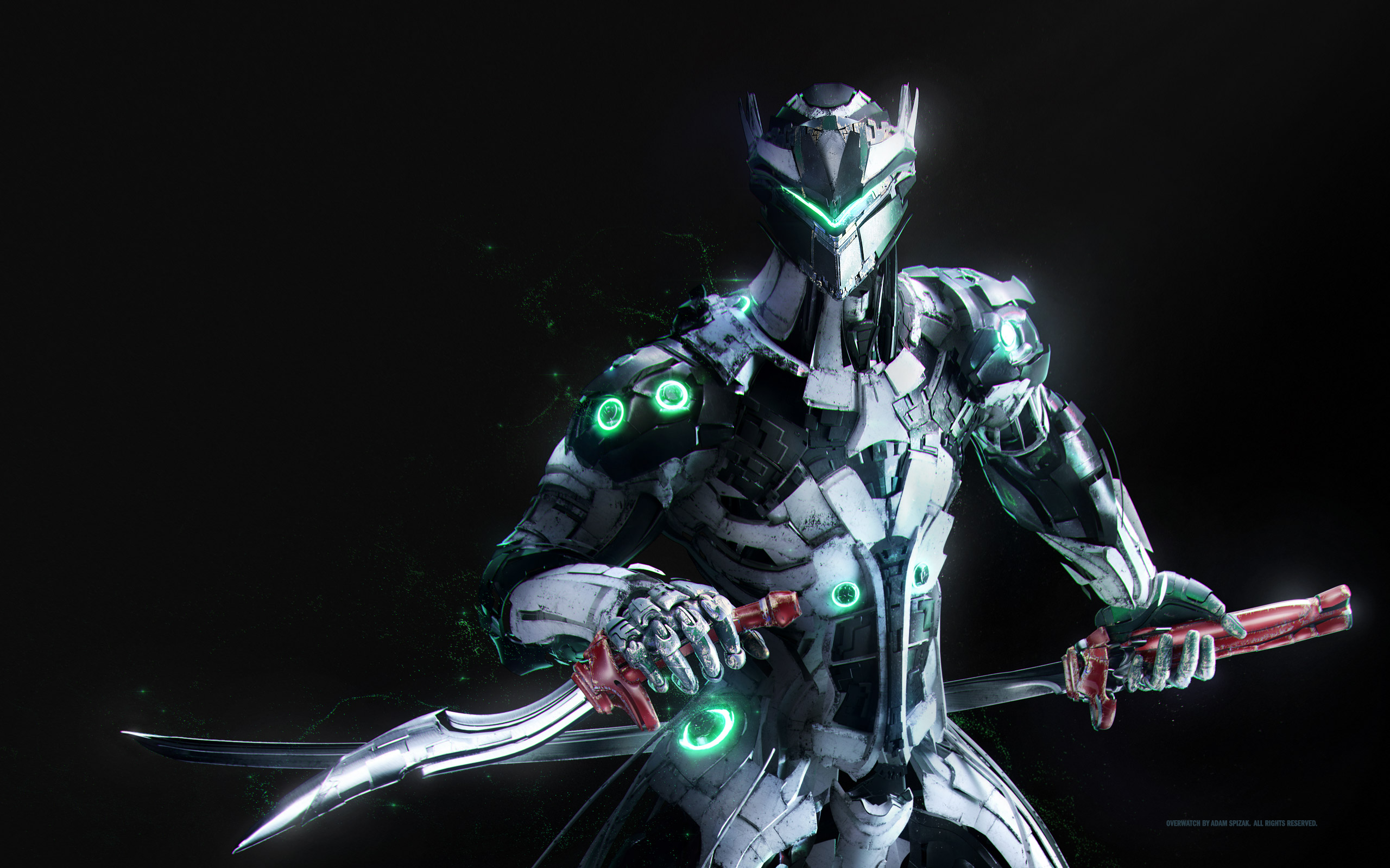 4k Wallpaper 3d 3840x2400 Genji Overwatch Artwork Hd Games 4k Wallpapers Images