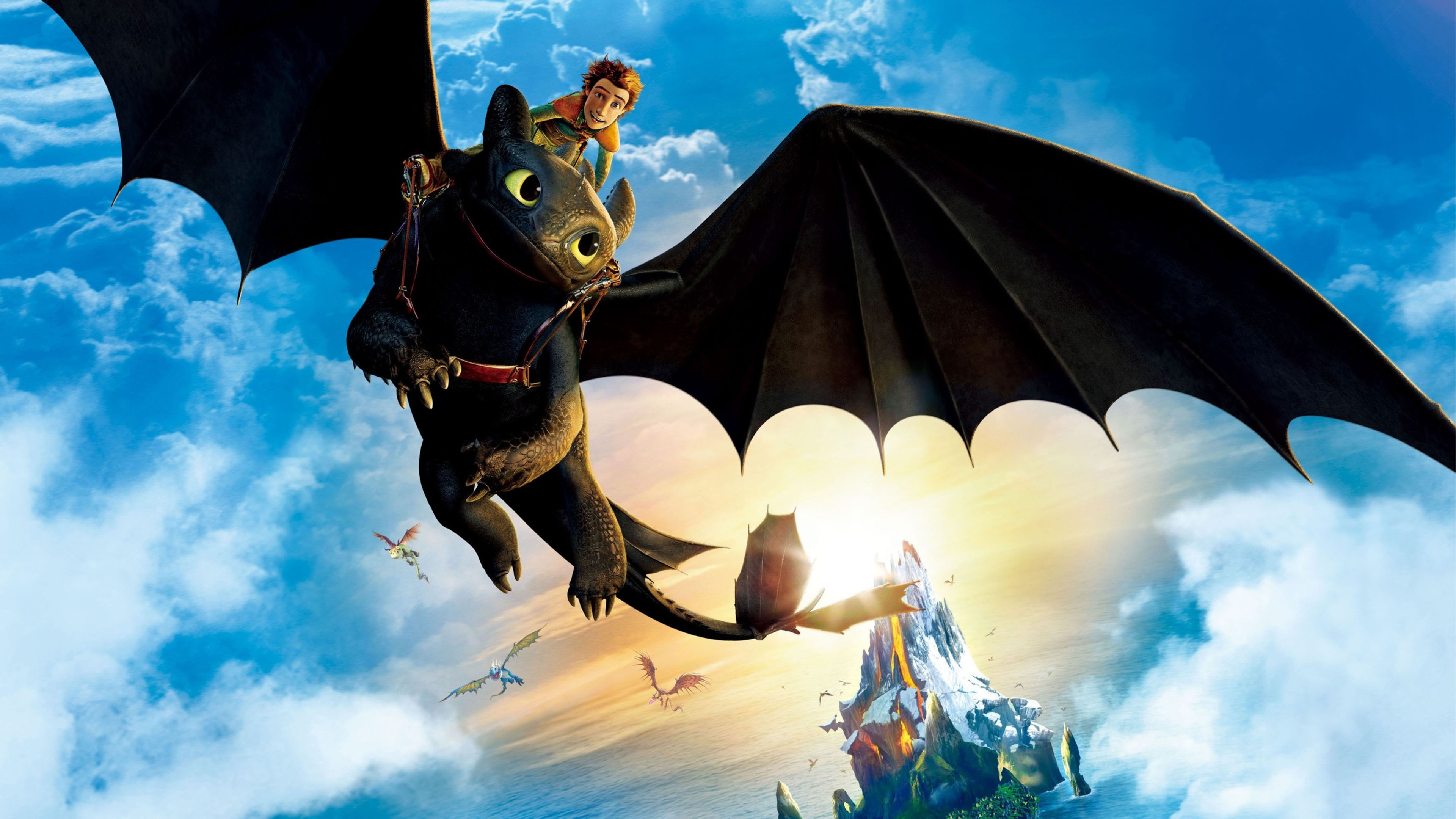 Toothless Dragon Wallpaper Hd Cute How To Train Your Dragon Latest Hd Movies 4k Wallpapers