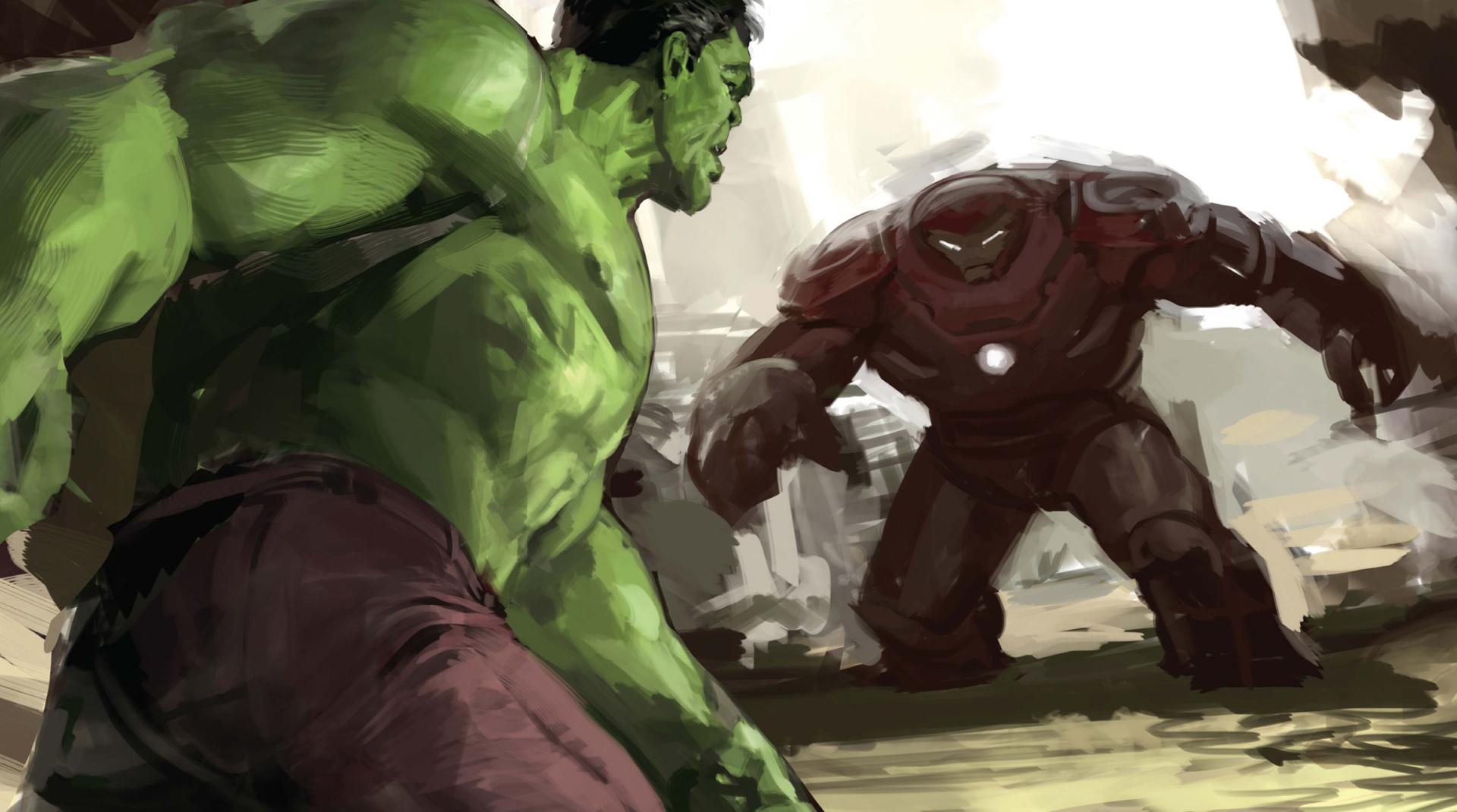 Iron Man 3d Wallpaper Android Hulk And Iron Hulkuster Artwork Hd Movies 4k Wallpapers