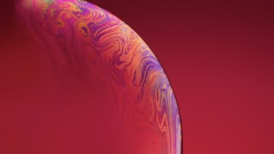 3840x2160 IPhone Xs Double Bubble Red 4k HD 4k Wallpapers, Images, Backgrounds, Photos and Pictures
