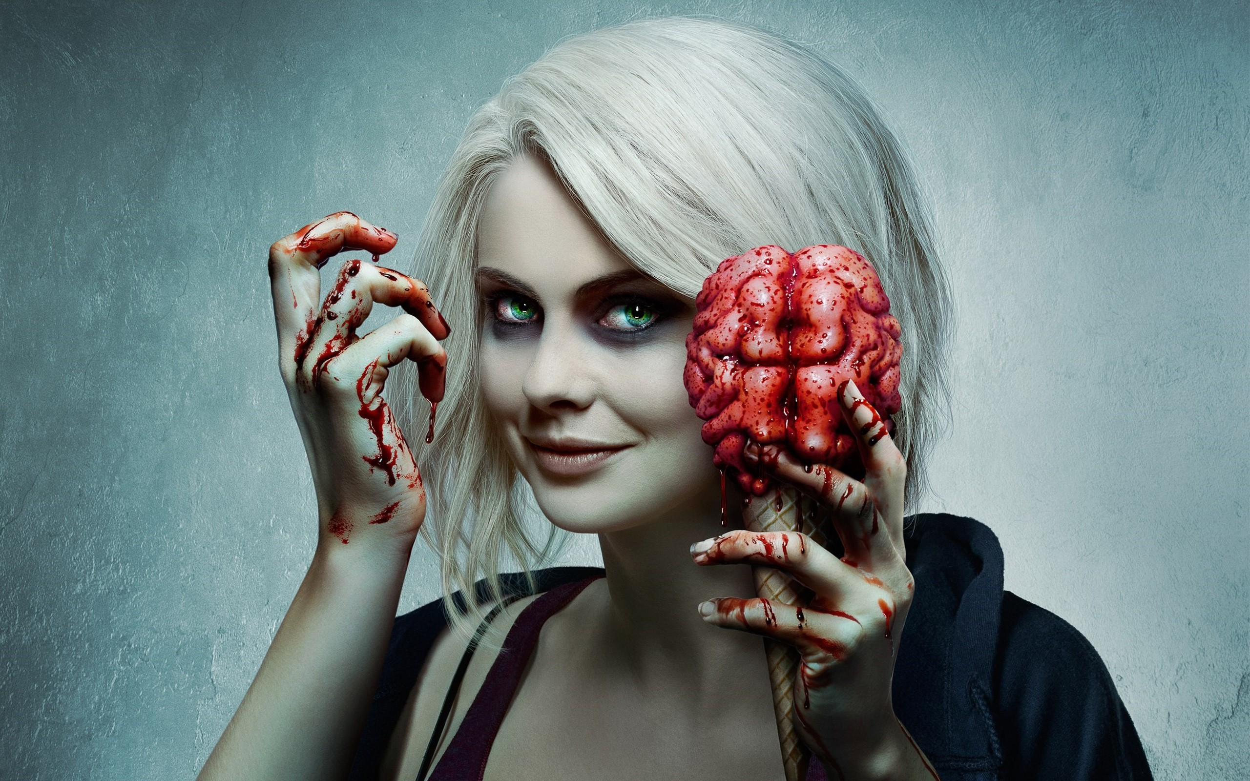 Wallpaper Desktop Girl Falling Izombie Season 2 Hd Tv Shows 4k Wallpapers Images