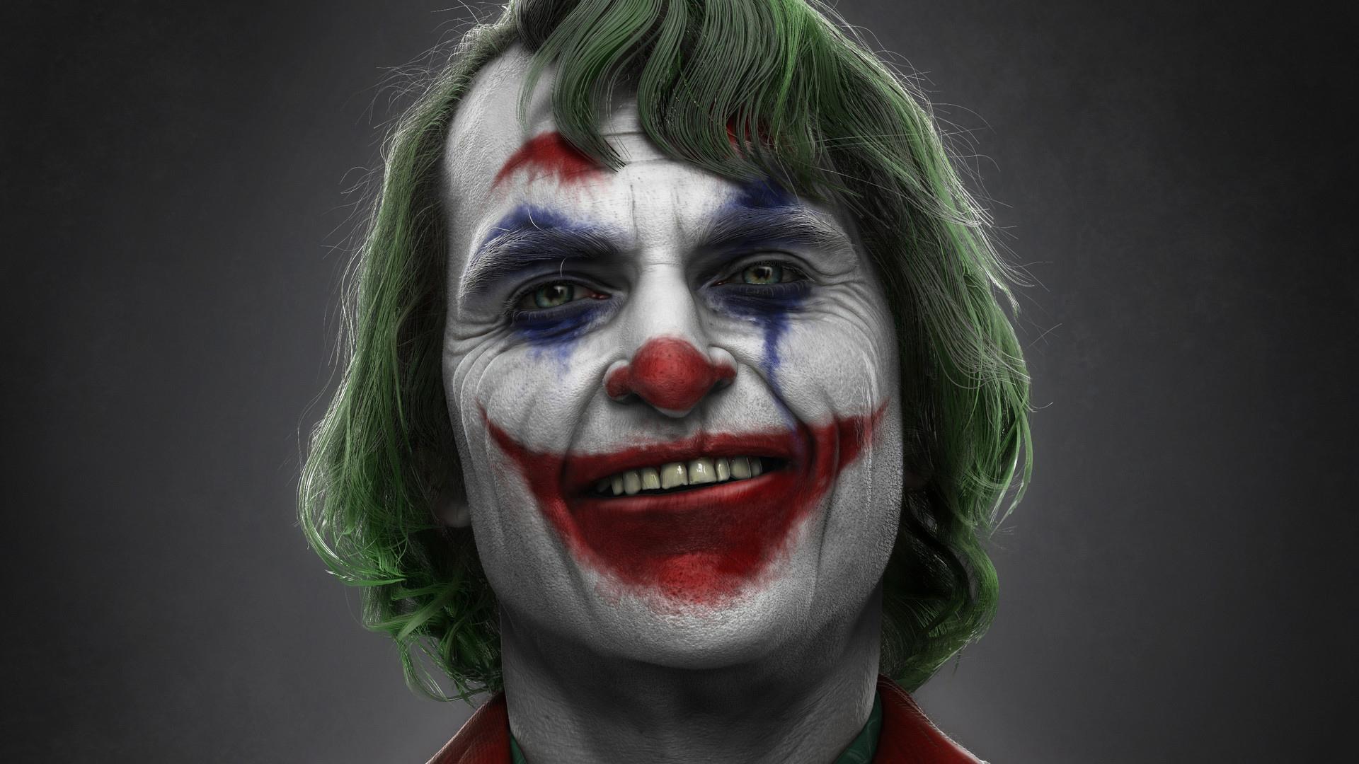 Phoenix Wallpaper Hd 3d Joker Joaquin Phoenix Art Hd Superheroes 4k Wallpapers