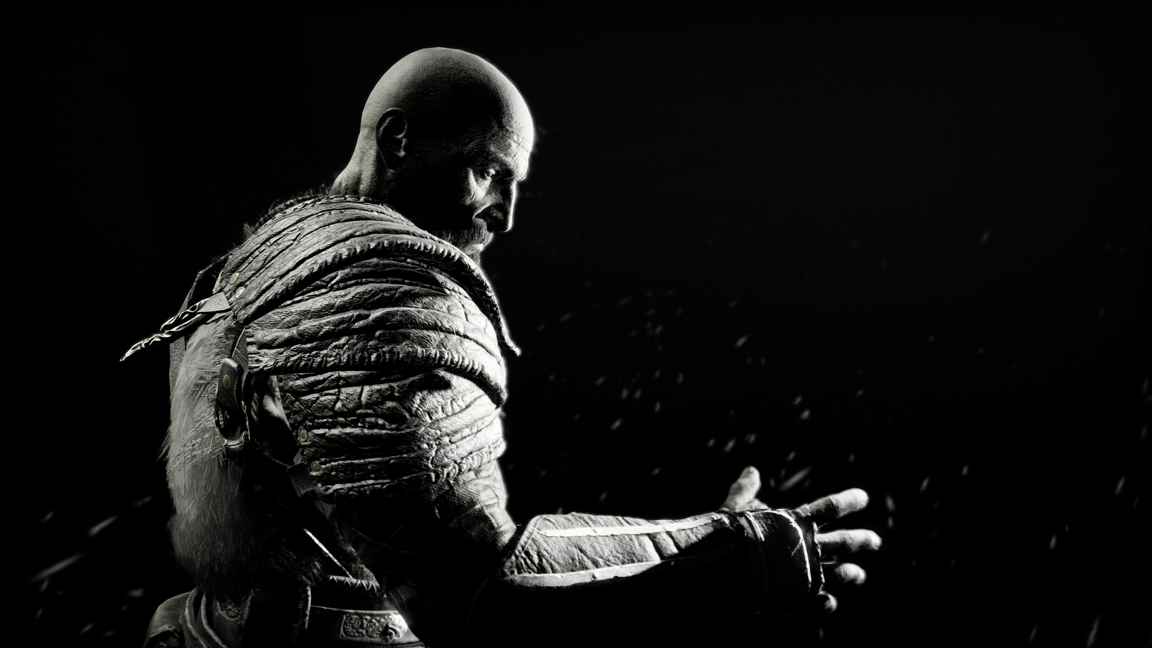 Cute Wallpaper Black And White Birds Kratos In God Of War 4k Hd Games 4k Wallpapers Images