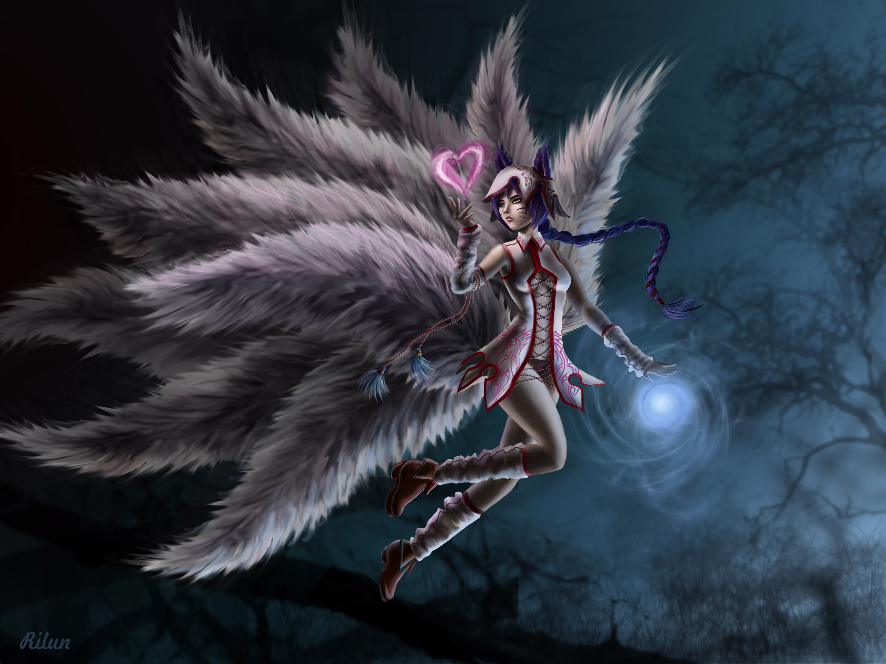 Sculpture Hd Wallpapers League Of Legends Ahri Art Hd Games 4k Wallpapers