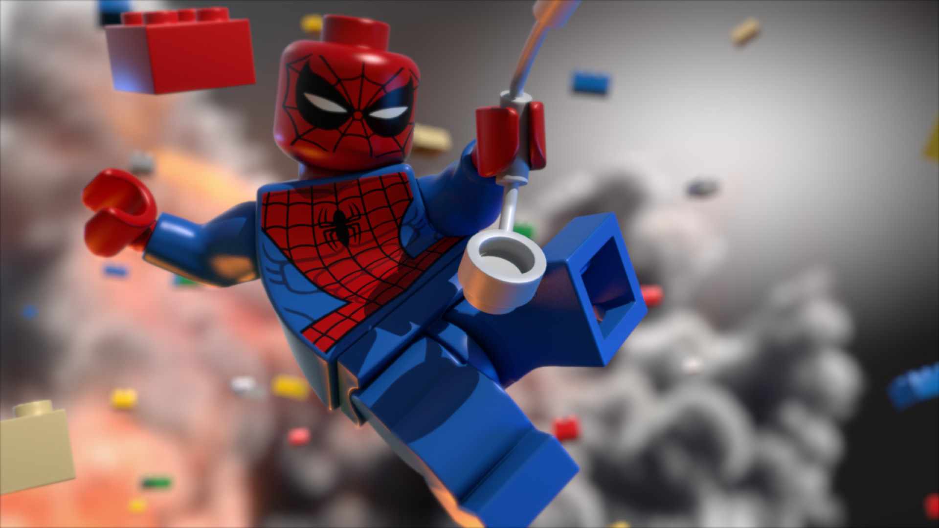Cute Apple Logo Wallpaper Lego Spiderman Hd Cartoons 4k Wallpapers Images