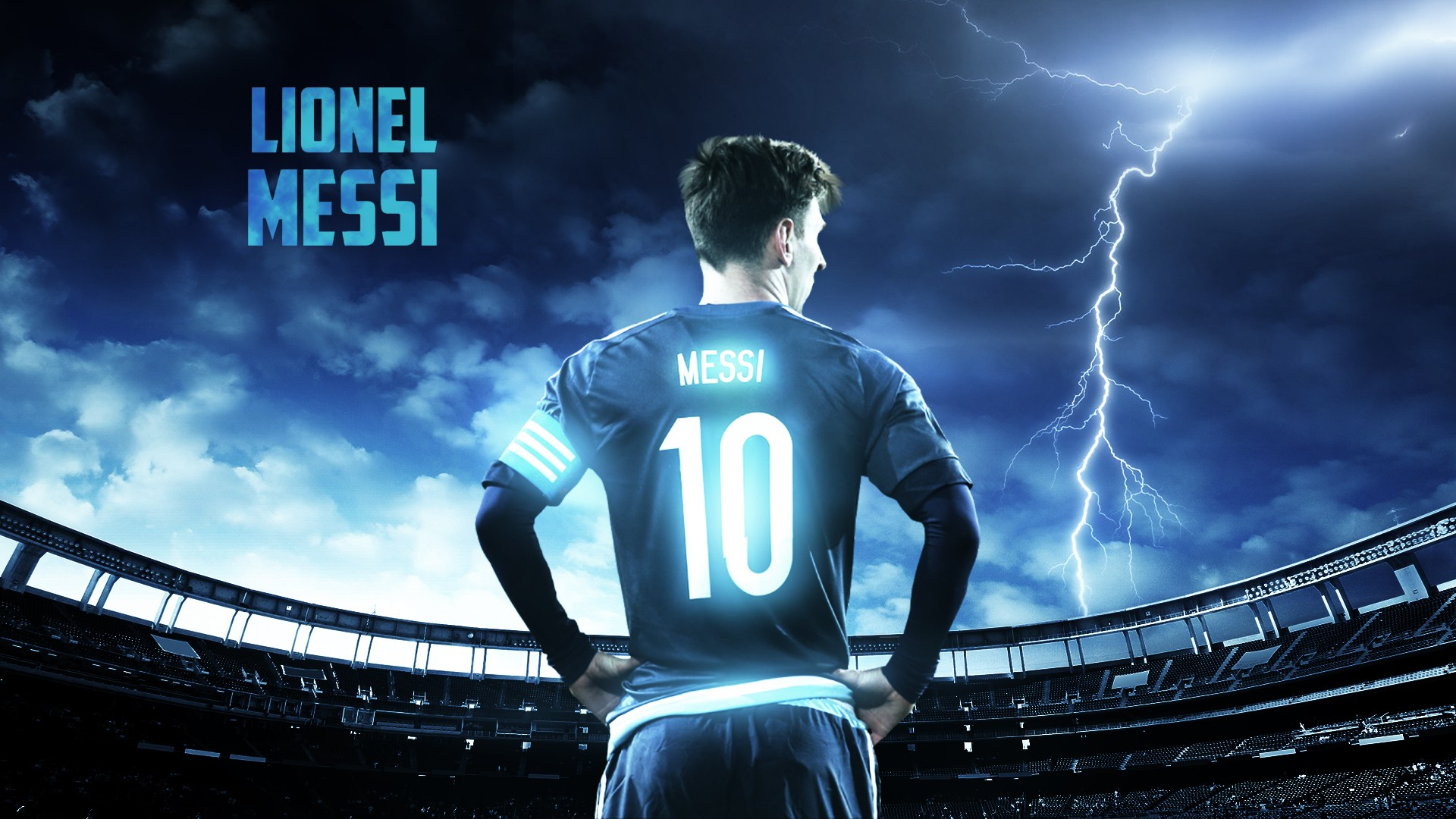 Wallpaper Barcelona Fc 3d Leo Messi Hd Sports 4k Wallpapers Images Backgrounds