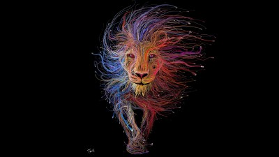Lion Wires Art, HD Artist, 4k Wallpapers, Images, Backgrounds, Photos and Pictures
