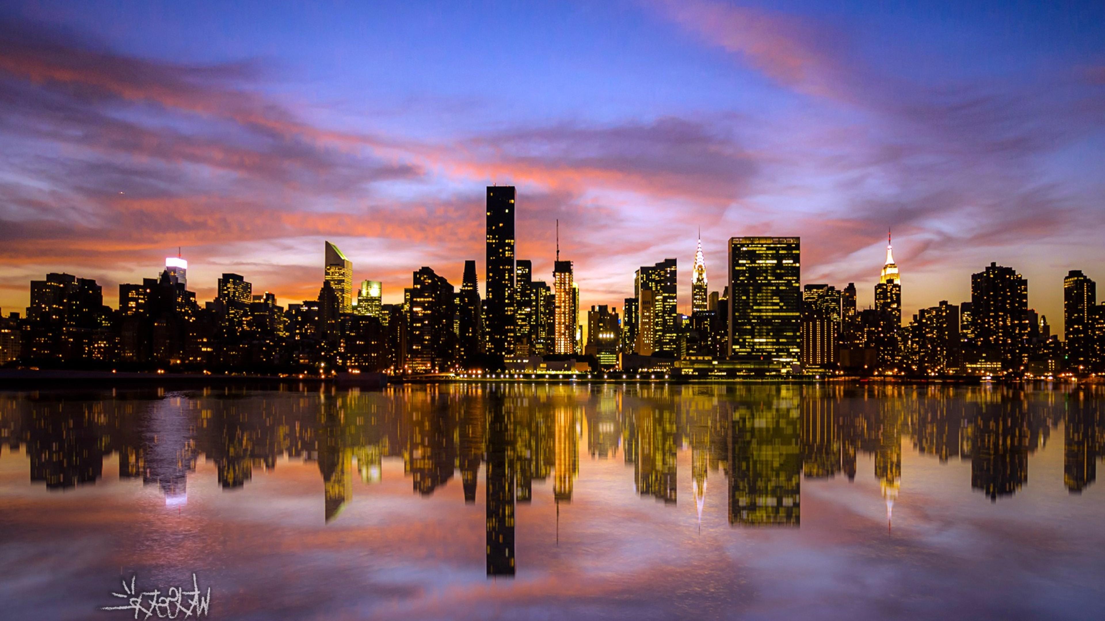 Beautiful Cars Hd Wallpapers Download Manhattan Sunset Desktop Hd World 4k Wallpapers Images