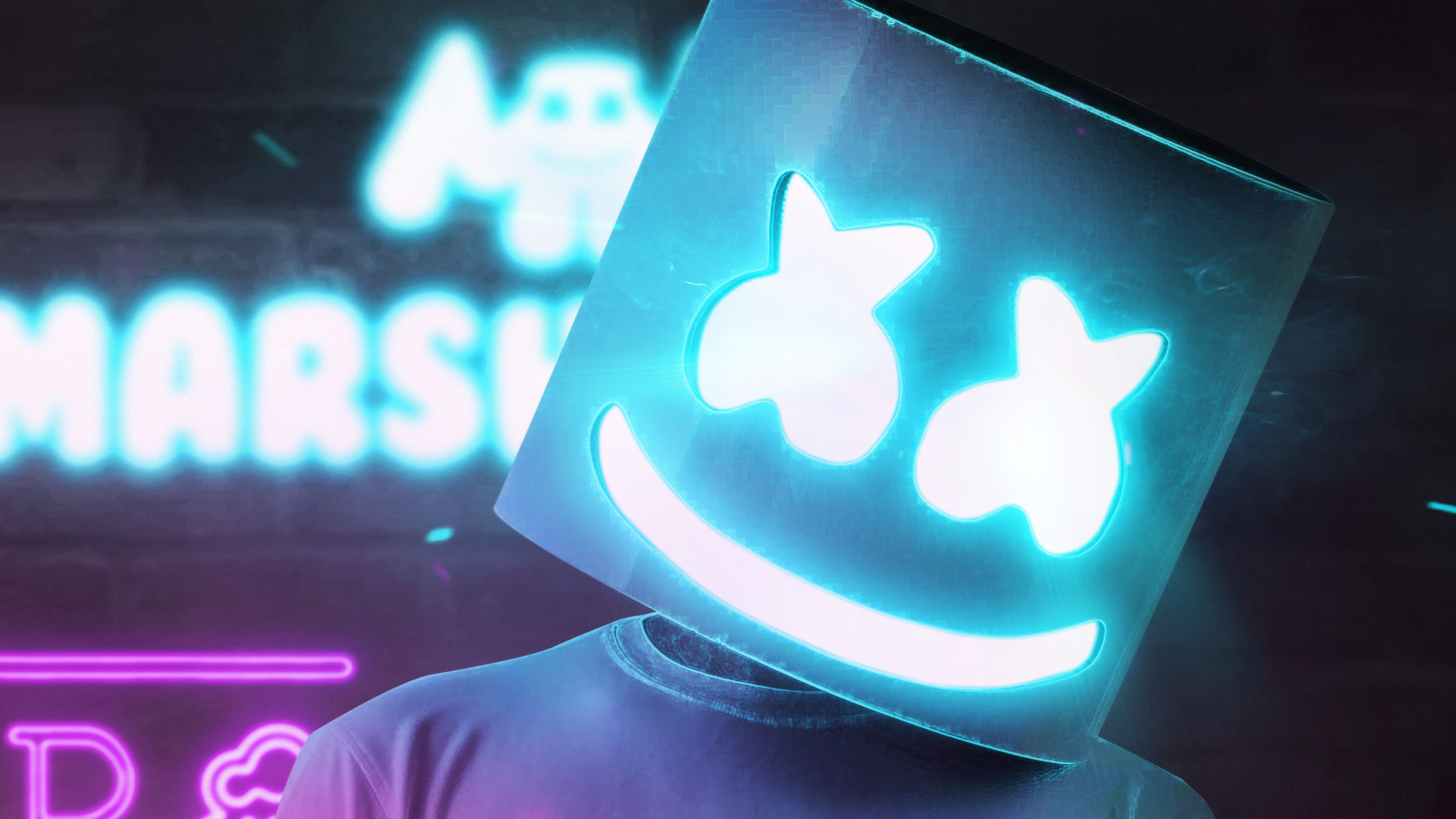 Cool Background Wallpapers 3d Marshmello 4k 2018 Hd Music 4k Wallpapers Images