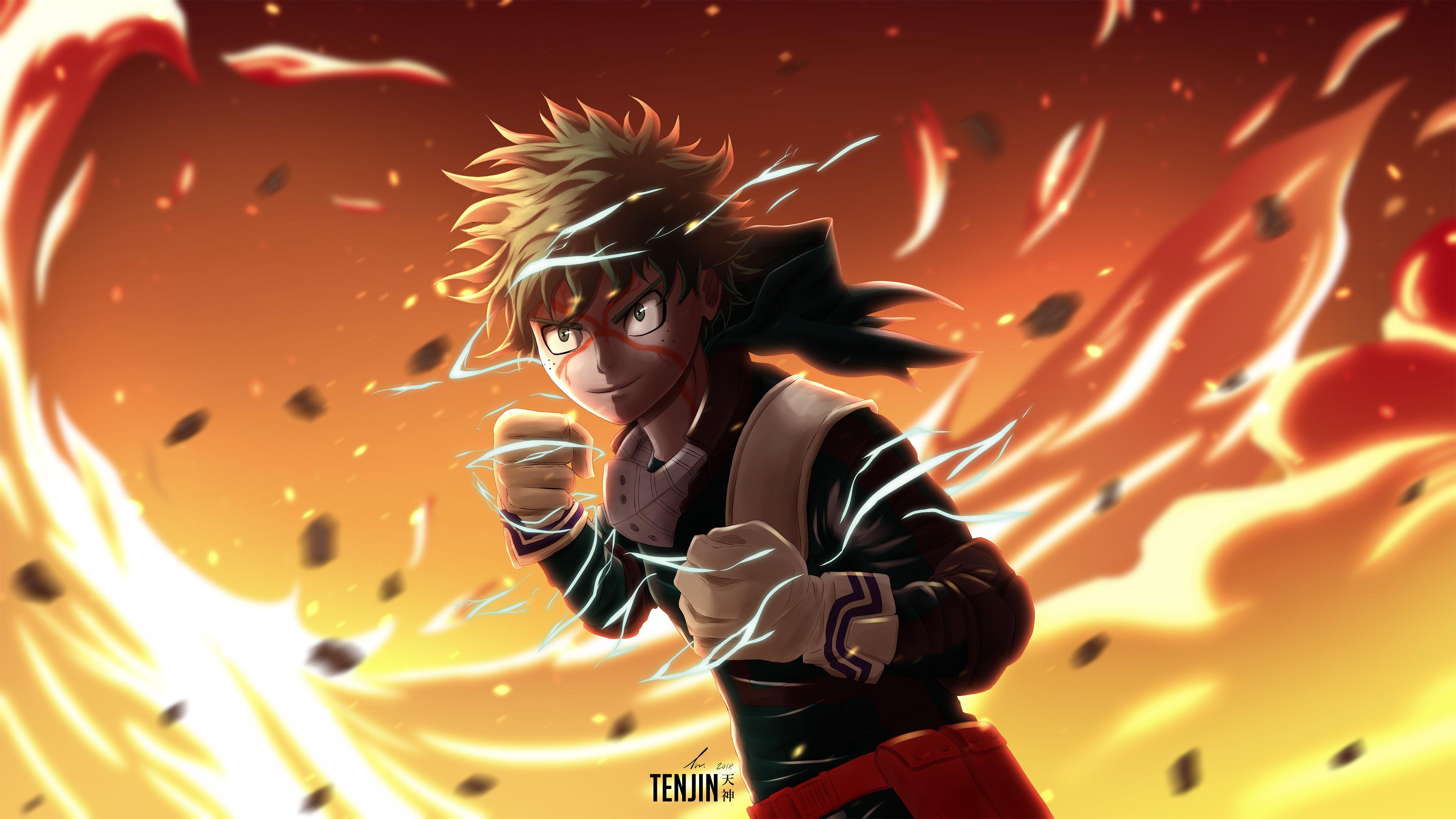 Boku No Hero Academia Wallpaper Cute My Hero Academia Izuku Midoriya 4k Hd Anime 4k