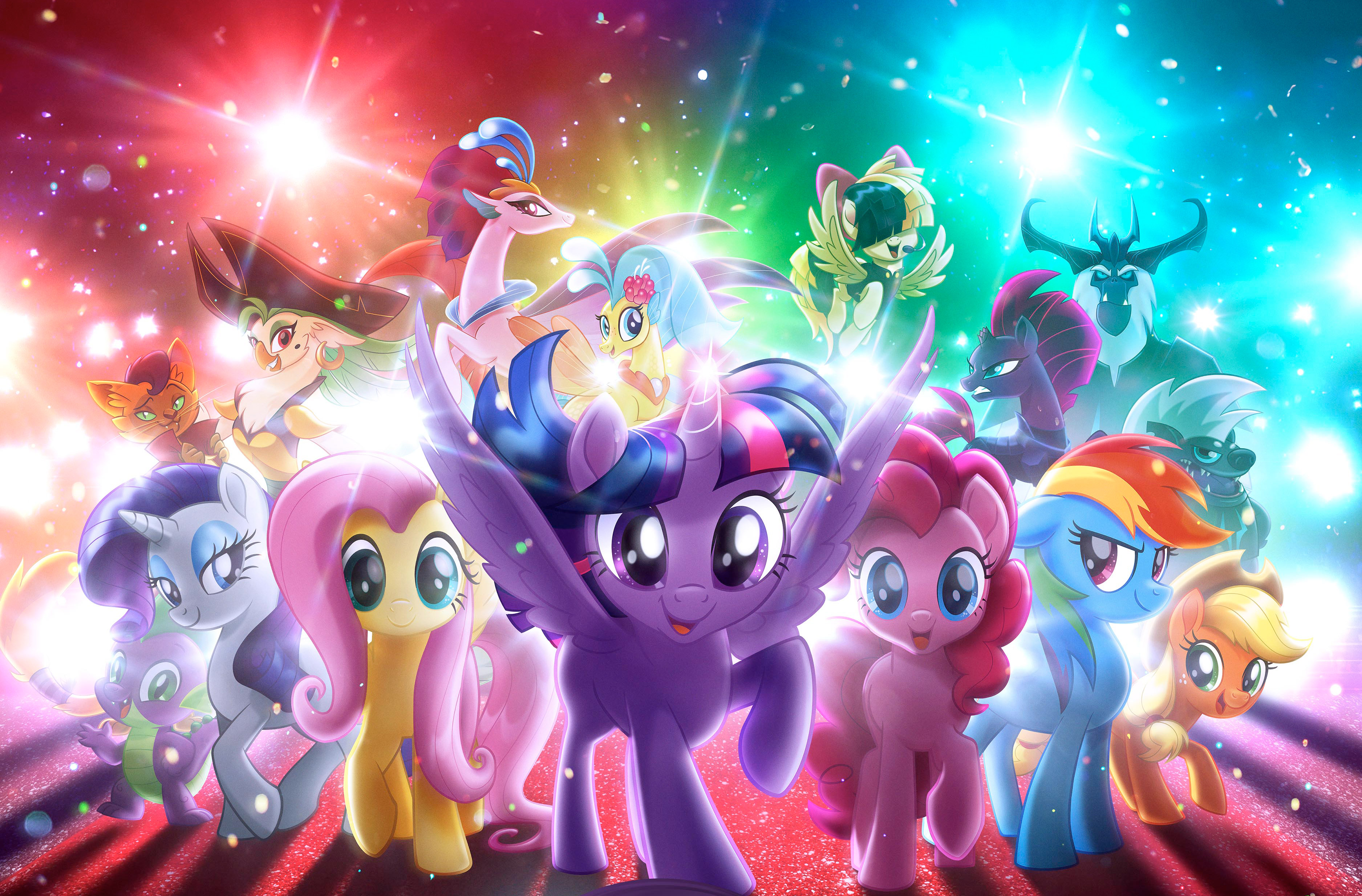 4k Wallpaper 3d 3840x2400 My Little Pony The Movie Hd Movies 4k Wallpapers Images