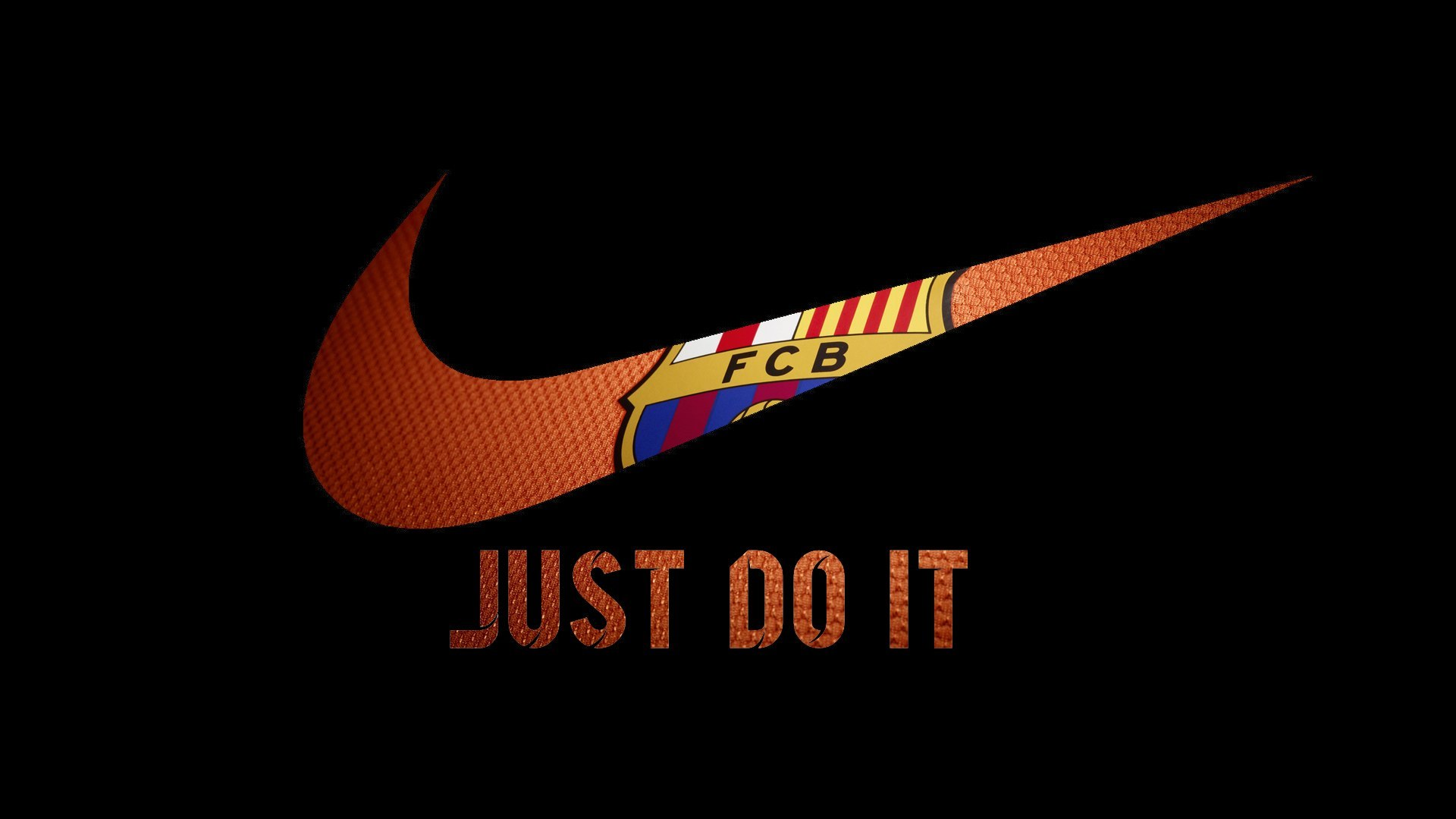 Cute Birds Wallpapers For Desktop Nike Fcb Logo Hd Logo 4k Wallpapers Images Backgrounds