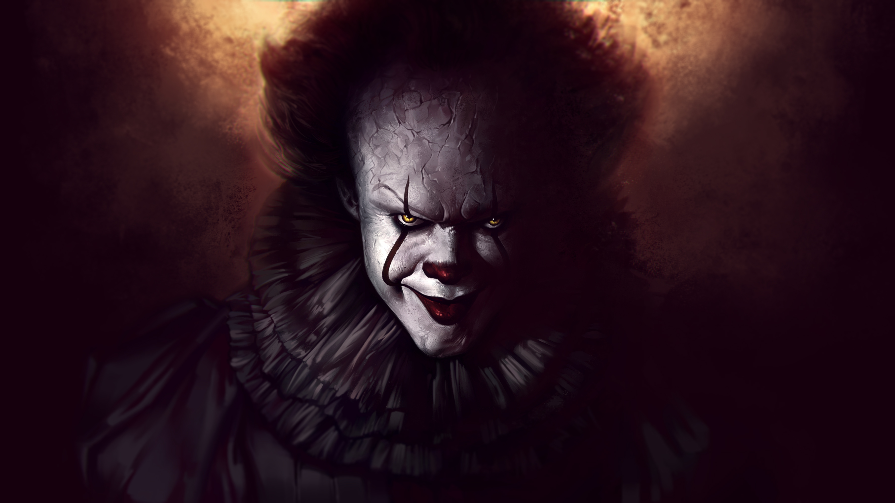 3d Clown Wallpaper Pennywise The Clown Fanart Hd Movies 4k Wallpapers