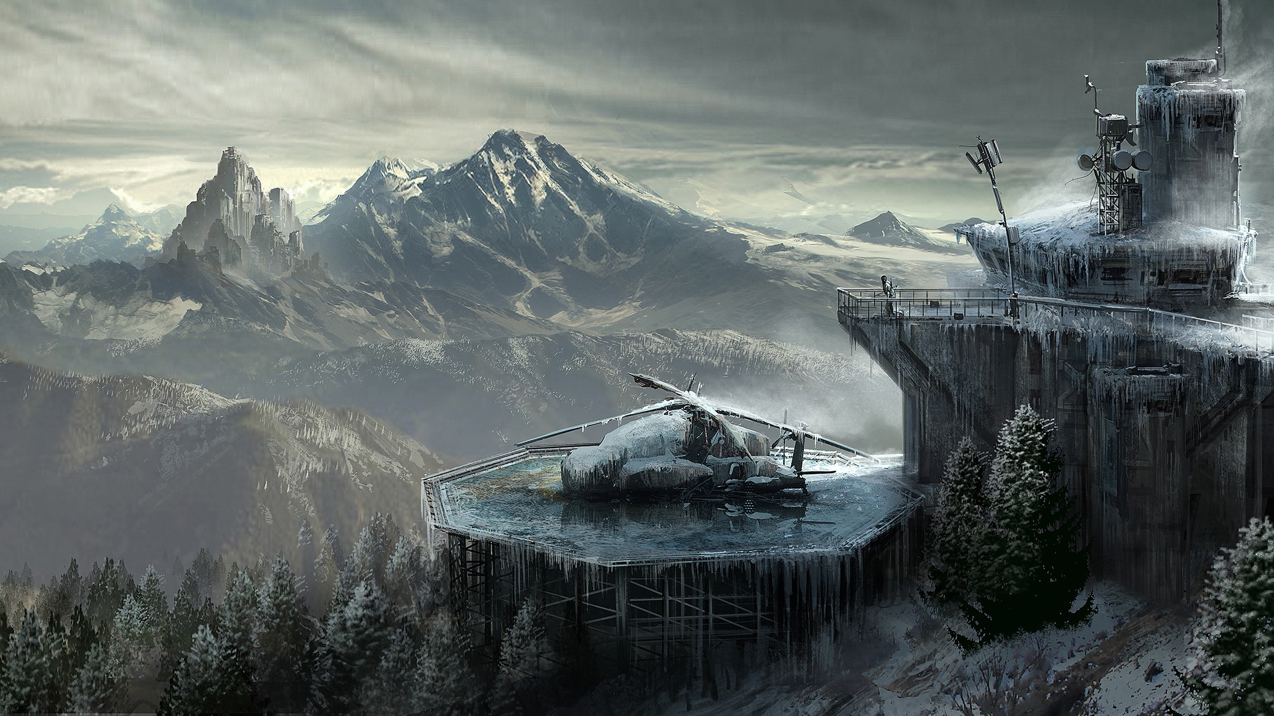 Heavy Bikes And Cars Wallpapers Free Download Rise Of The Tomb Raider Concept Art Hd Games 4k