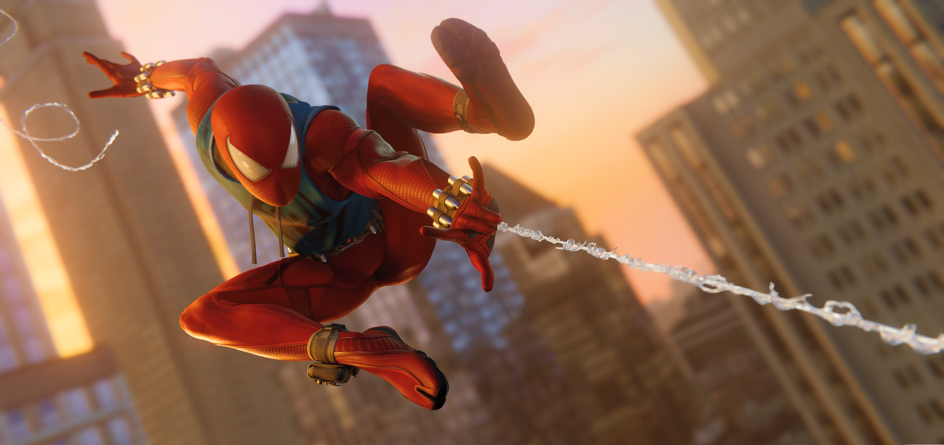 Iron Man 3d Wallpaper Android 1920x1080 Scarlet Spider In Ps4 Game 4k Laptop Full Hd