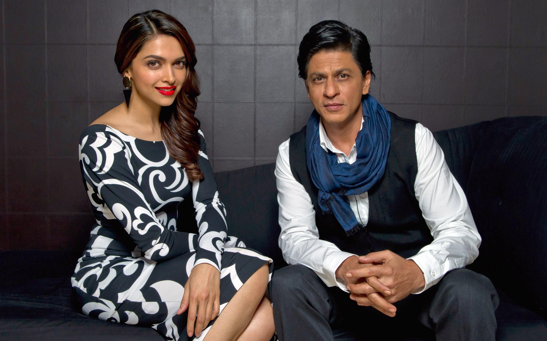Srk 3d Wallpaper Shahrukh Khan Deepika Padukone Hd Indian Celebrities 4k