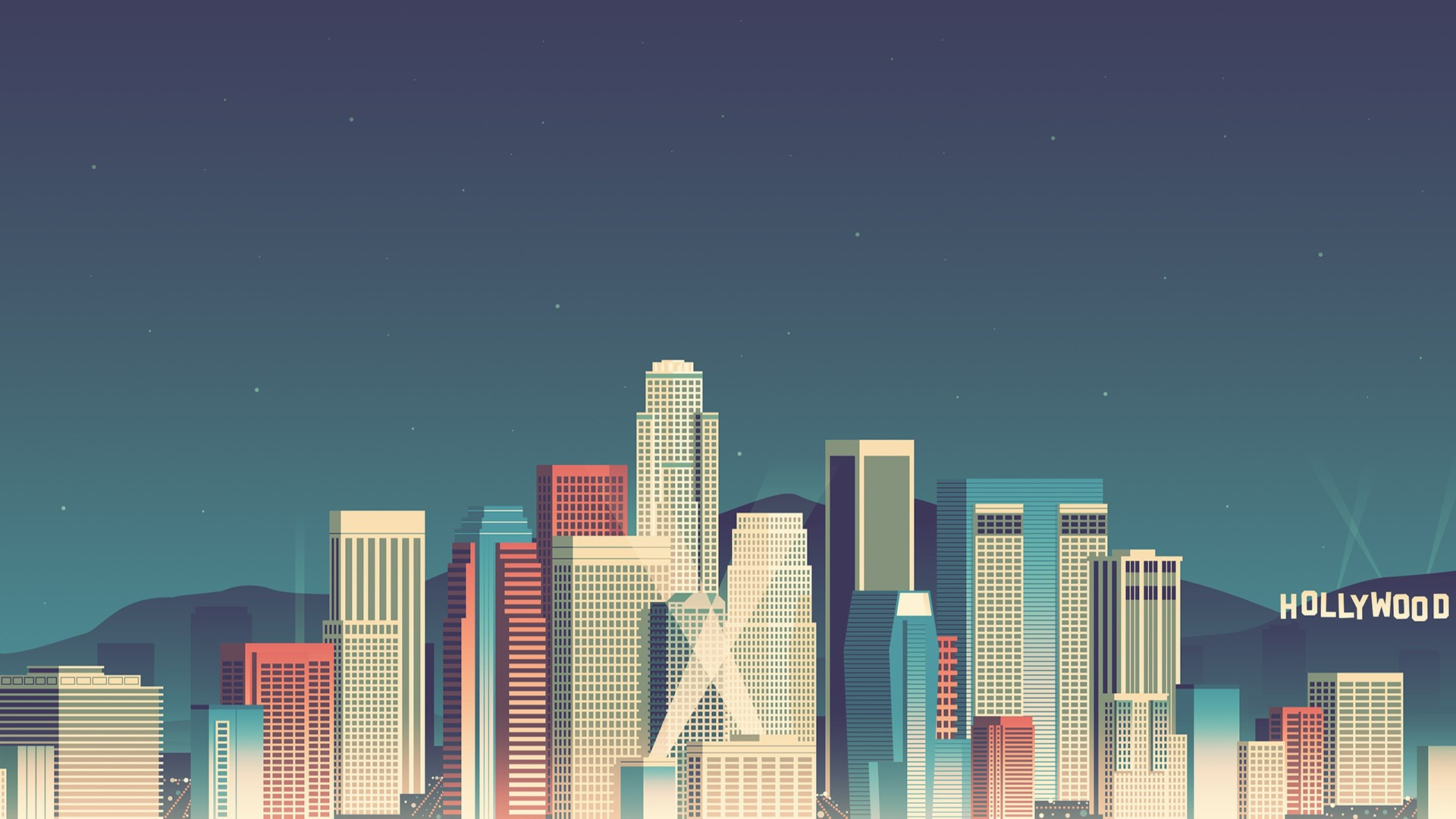 Cute Minimalistic Wallpapers Skycrapper Minimalism Hd Artist 4k Wallpapers Images