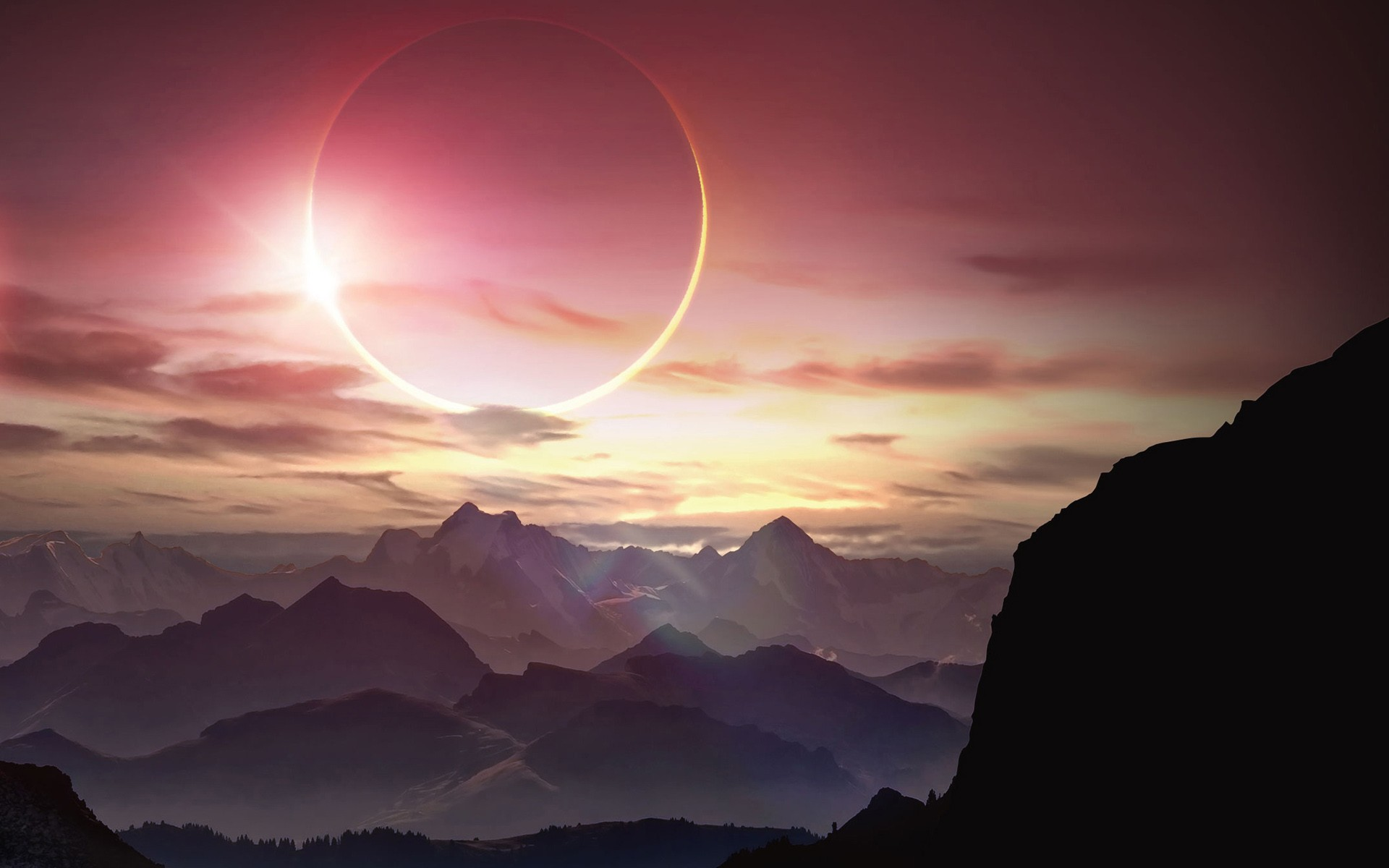 3d Wallpaper 800x1280 Solar Eclipse Hd Nature 4k Wallpapers Images