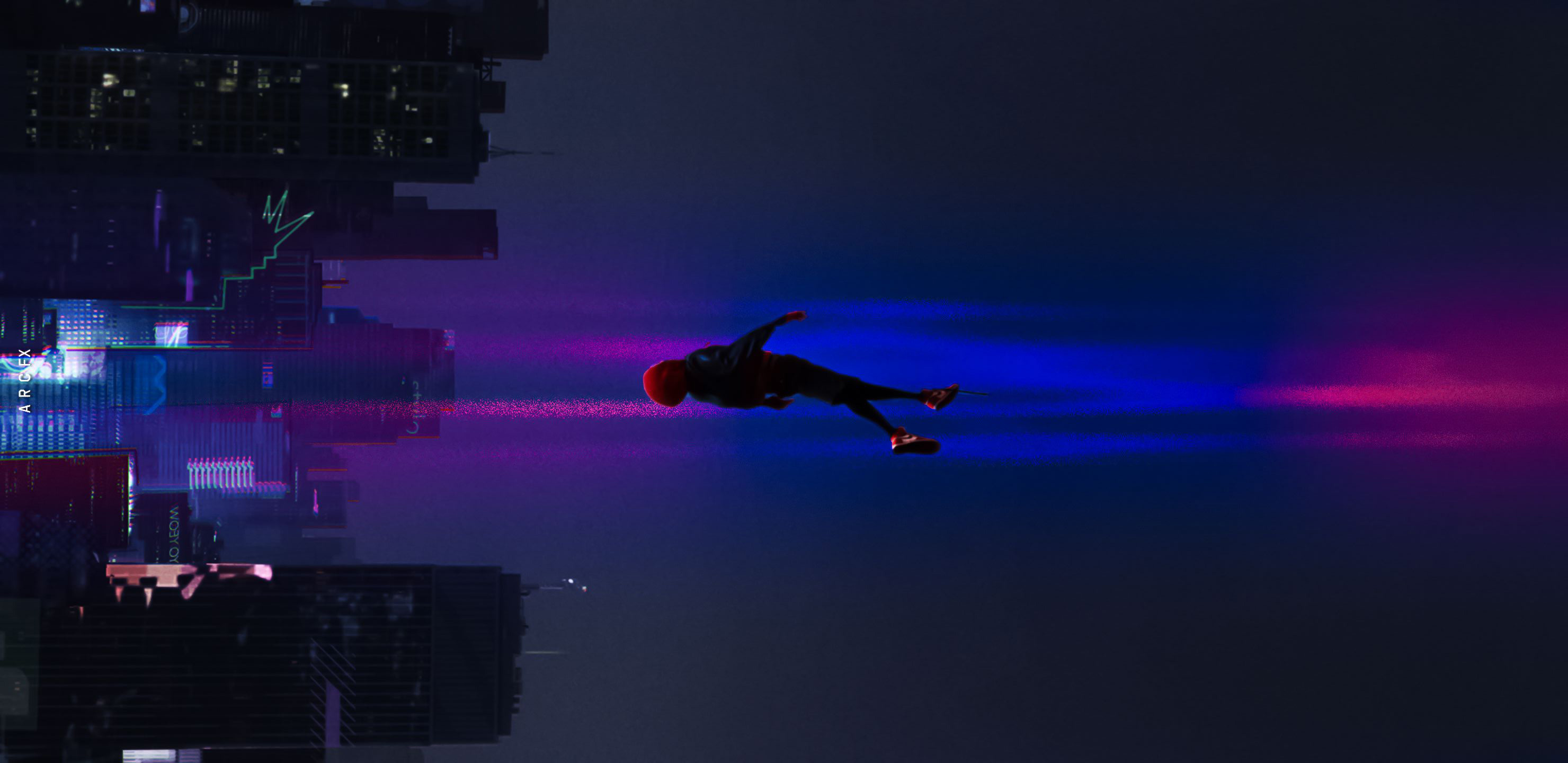 Anime Girls 2960x1440 Wallpaper 2880x1800 Spiderman Into The Spider Verse Movie 2018 Art