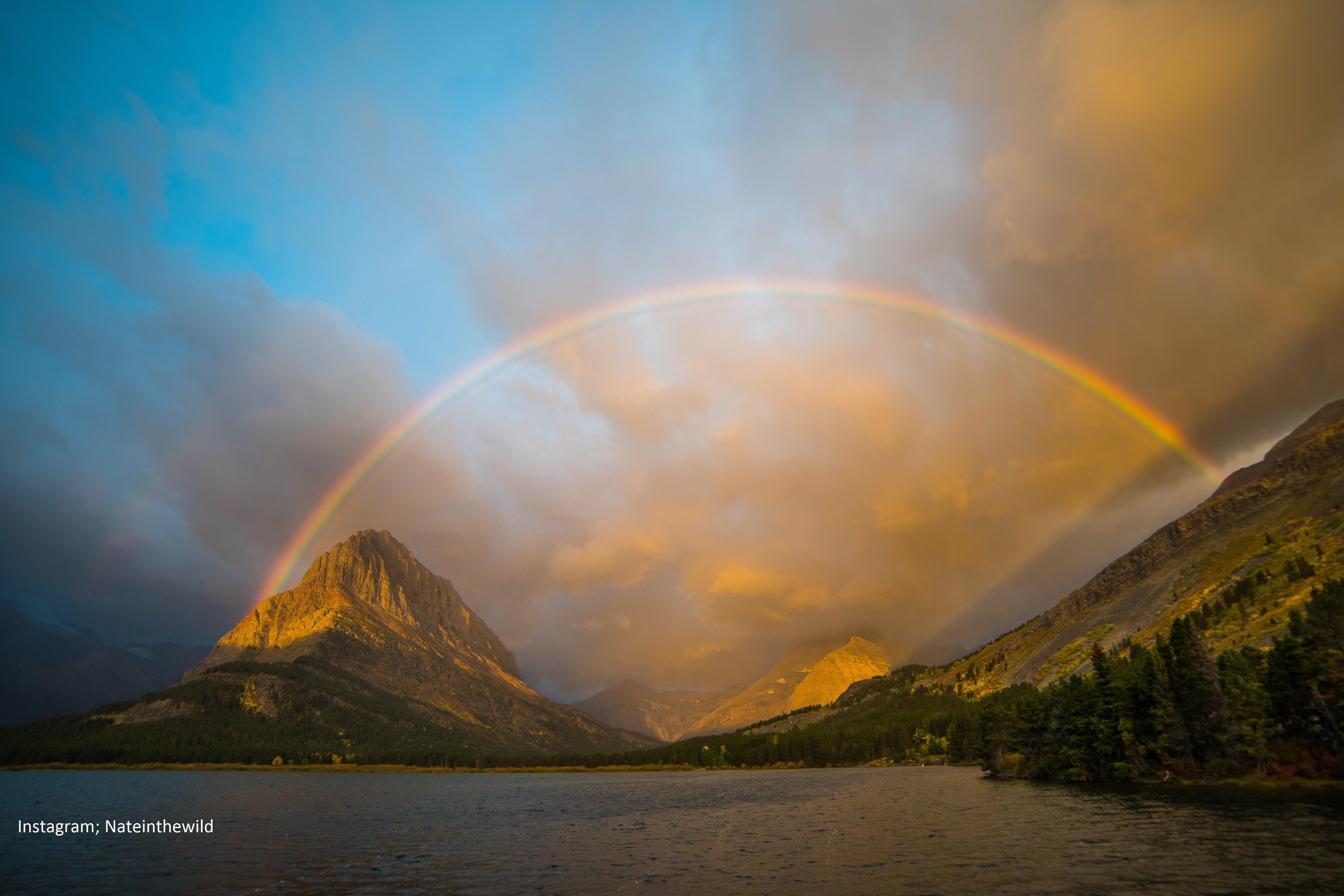Fall Lake Wallpaper Sunrise At Glacier National Park Hd Nature 4k Wallpapers
