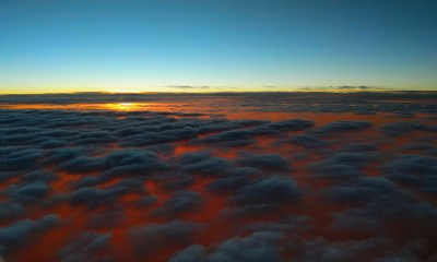 Sunset Above Clouds, HD Nature, 4k Wallpapers, Images, Backgrounds, Photos and Pictures
