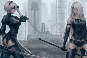 3d Wallpaper For Mobile 480x800 2560x1440 Nier Automata Cosplay 1440p Resolution Hd 4k