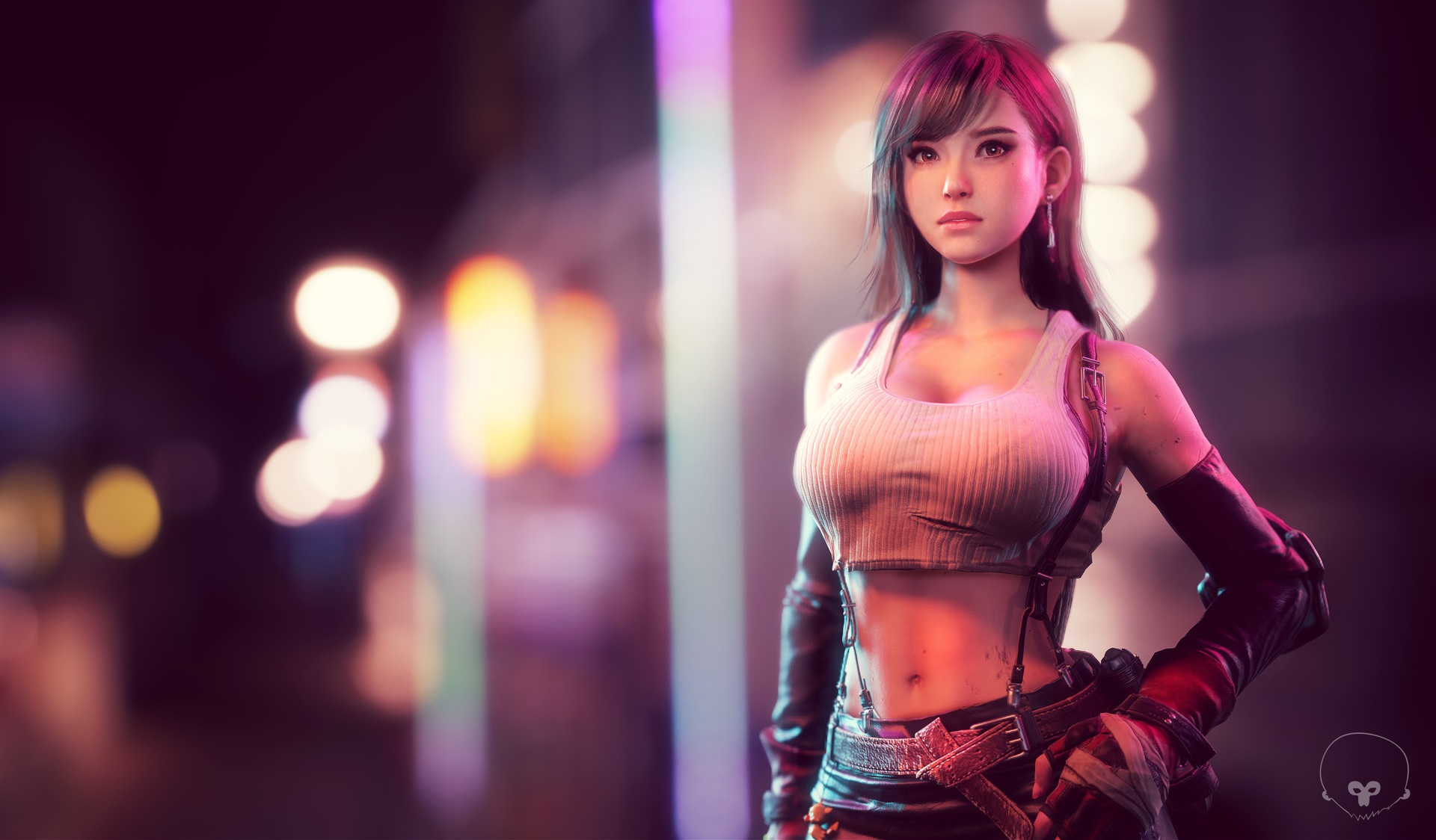 Badass Wallpapers Hd Tifa Lockhart In Final Fantasy Vii Hd Games 4k