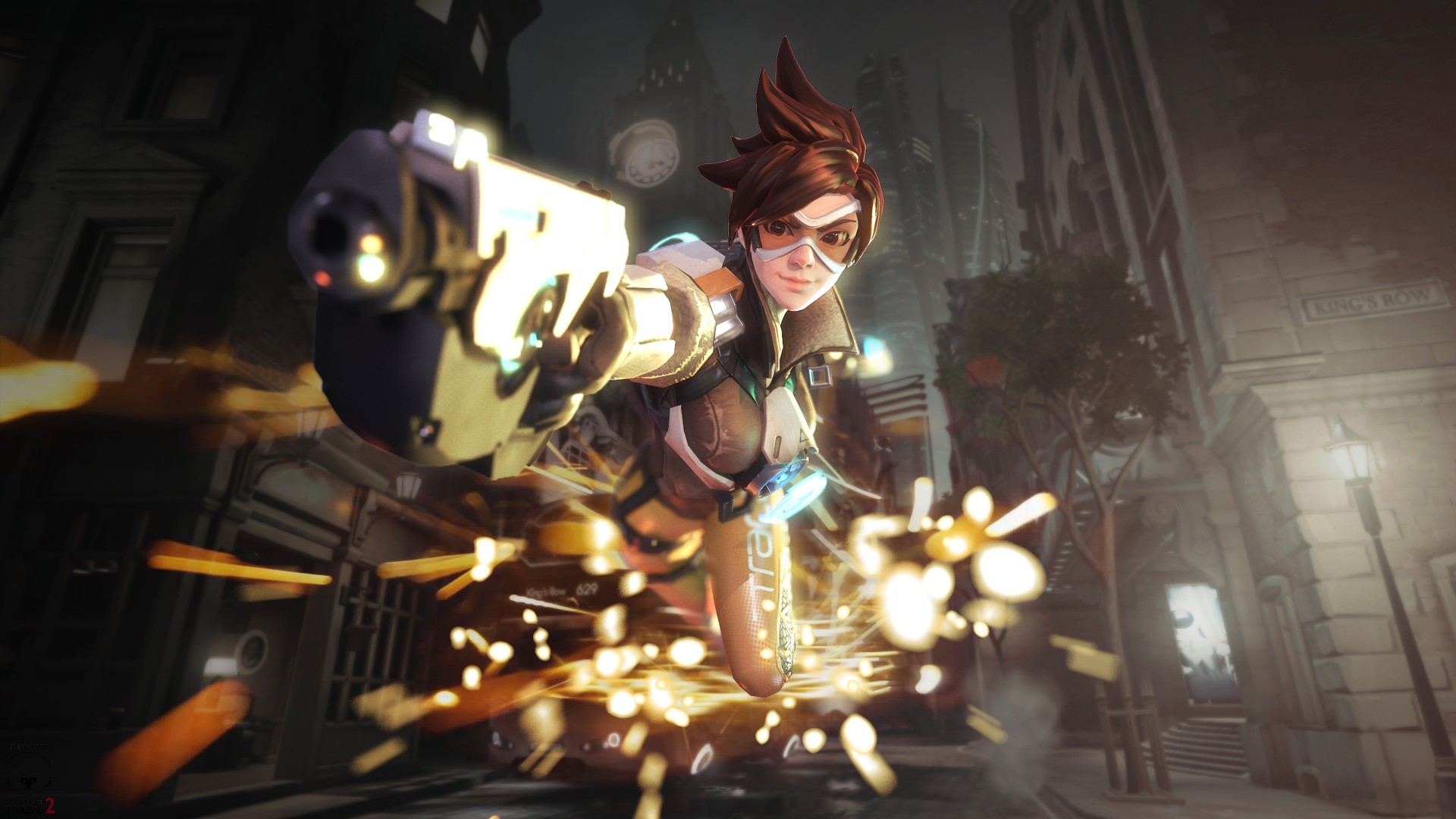 Cute Apple Watch Wallpaper Tracer Overwatch Hd Hd Games 4k Wallpapers Images