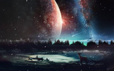 1366x768 Universe Scenery HD 1366x768 Resolution HD 4k Wallpapers, Images, Backgrounds, Photos ...