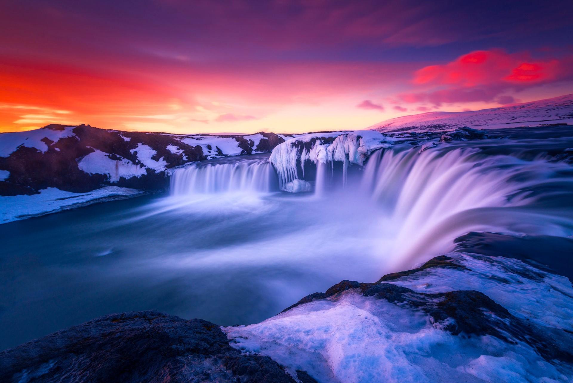 Niagara Water Falls Desktop Wallpaper Waterfall Iceland Hd Nature 4k Wallpapers Images