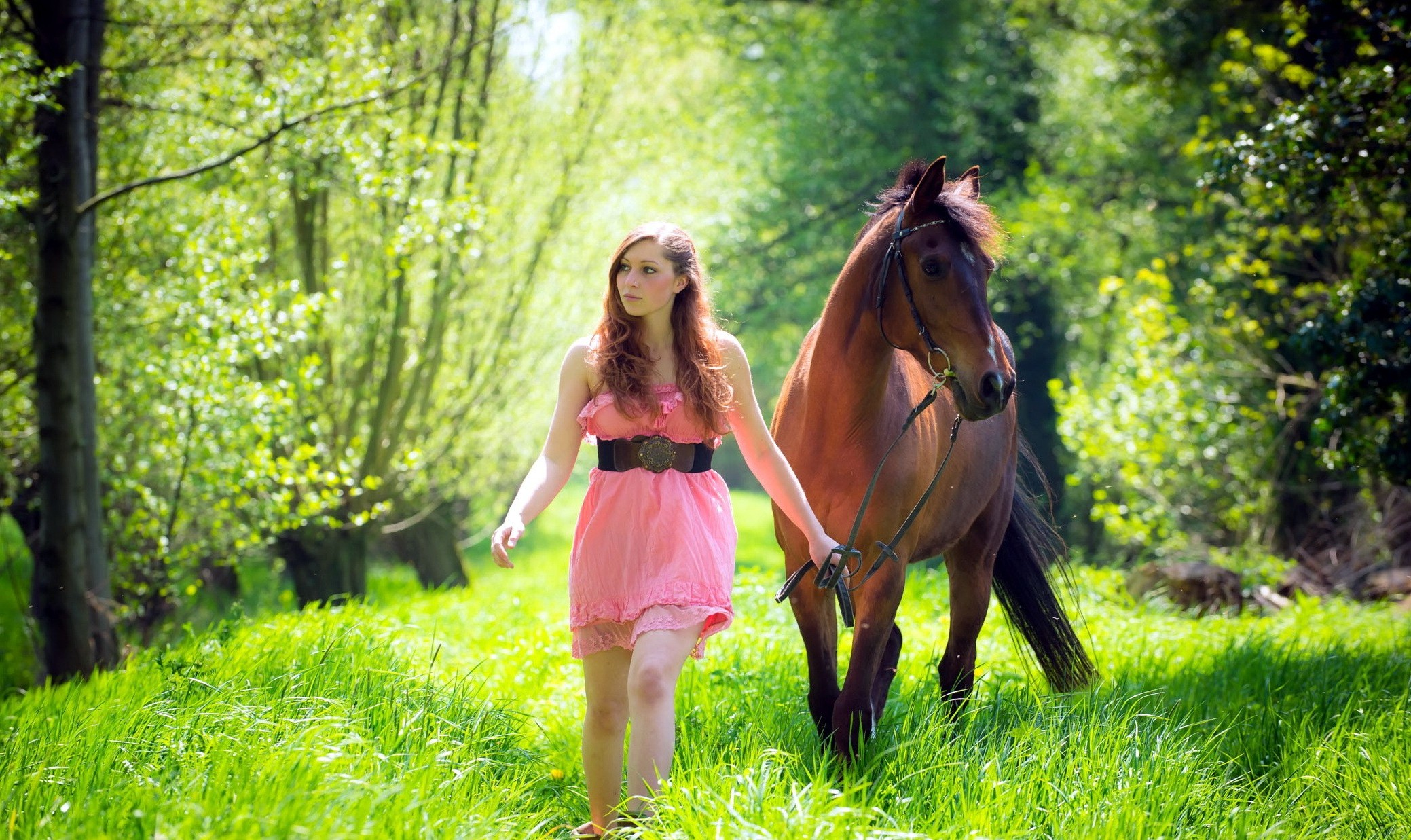 Hd Fantasy Girl Wallpapers 1080p Women With Horse Hd Girls 4k Wallpapers Images