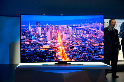 Beovision 7 Samsung Unveil 2014 4k Uhd Tvs Including An 85′ Flexible