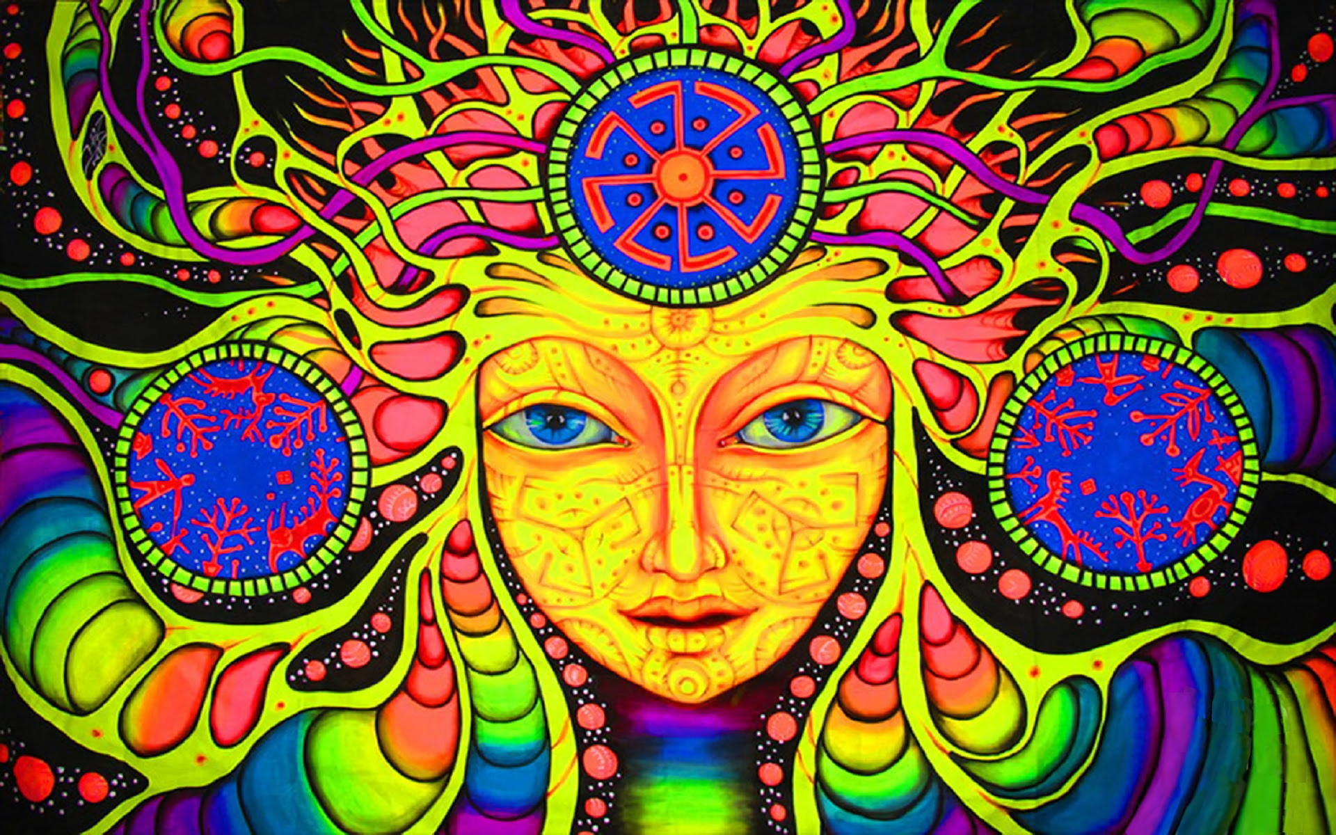 Pinturas Hippies Psychedelic Wallpapers Pictures Images
