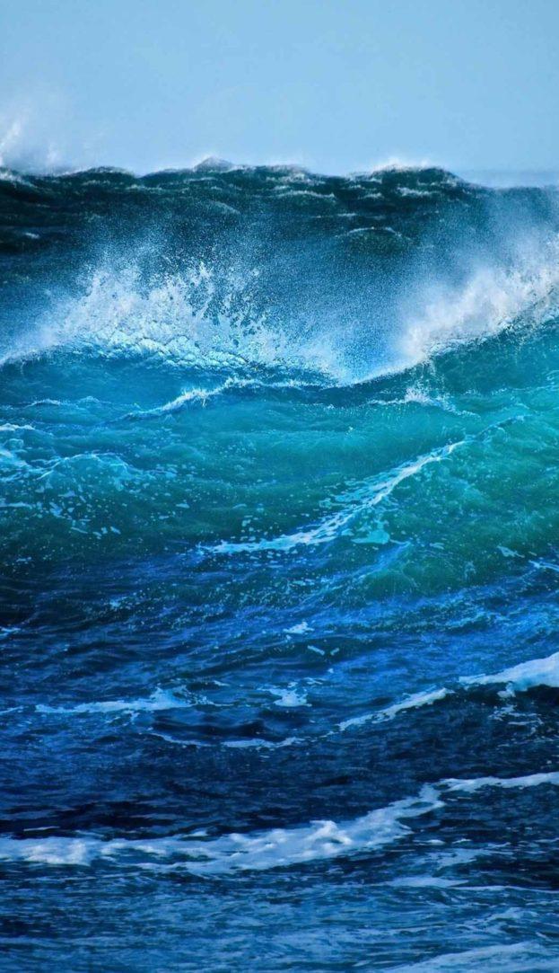 Iphone 6 Islamic Wallpaper Hd امواج البحر خلفيات ايفون بلس Iphone 6 Plus Amp 7 Plus صور
