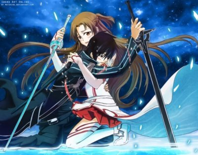 Sword Art Online, Yuuki Asuna, Kirigaya Kazuto, Anime HD Wallpapers / Desktop and Mobile Images ...
