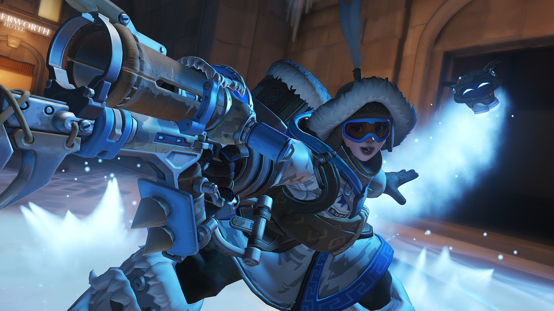 Iphone X Wallpaper 4k Live Overwatch Snow Mei Overwatch Hd Wallpapers Desktop
