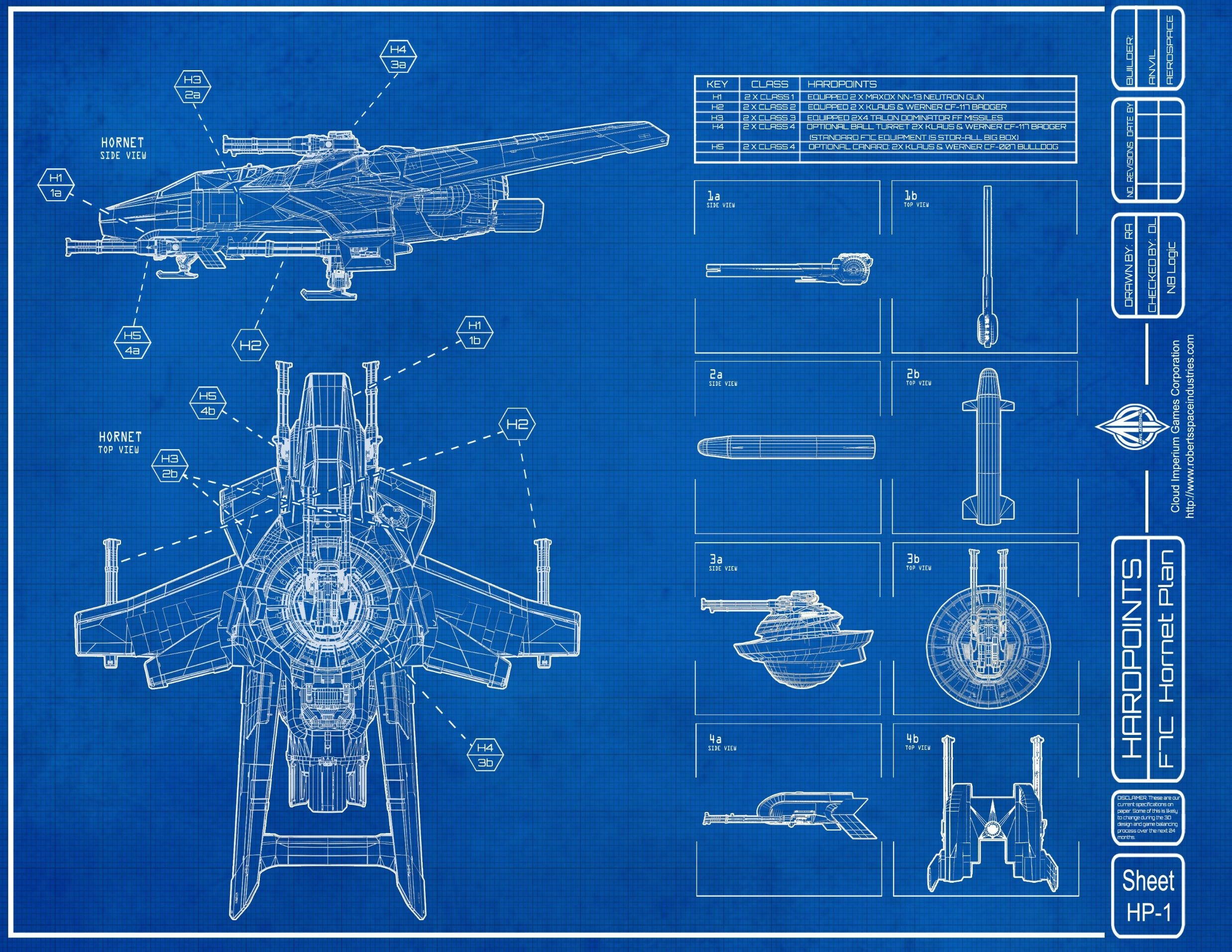 Wipeout Hd Wallpaper F7c Hornet Star Citizen Schematic Blueprints Hd