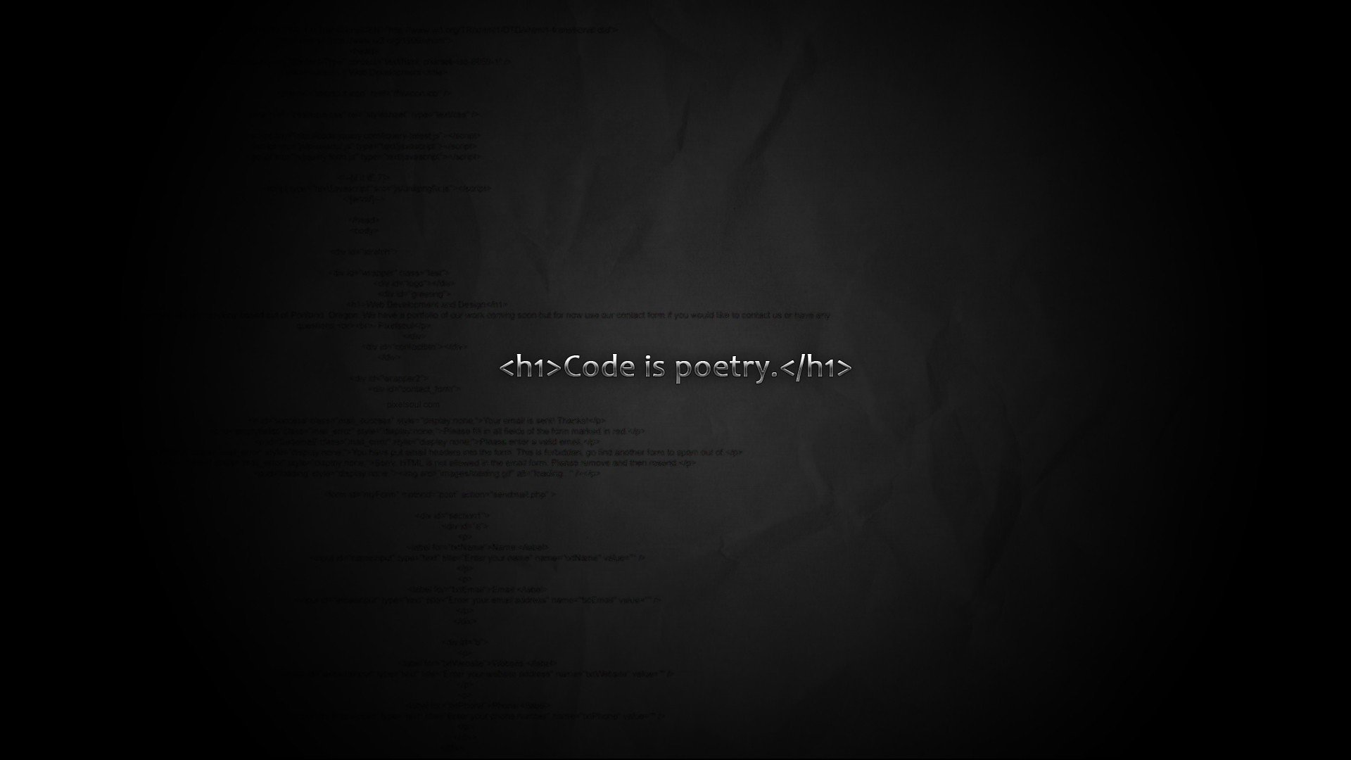 Web Developer Quote Wallpaper Code Poetry Programmer Hd Wallpapers Desktop And