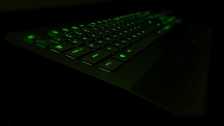 Wallpaper Teknologi 3d Razer Razer Deathstalker Keyboards Glowing 3d Hd