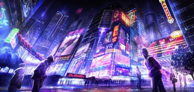 cyberpunk, Futuristic, Neon HD Wallpapers / Desktop and Mobile Images & Photos