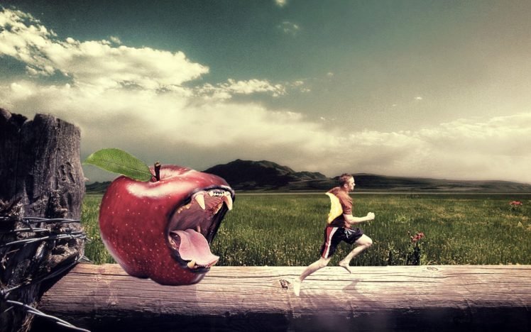 Cool Lion Wallpapers Hd Photo Manipulation Men Apples Tiger Adobe Photoshop Hd