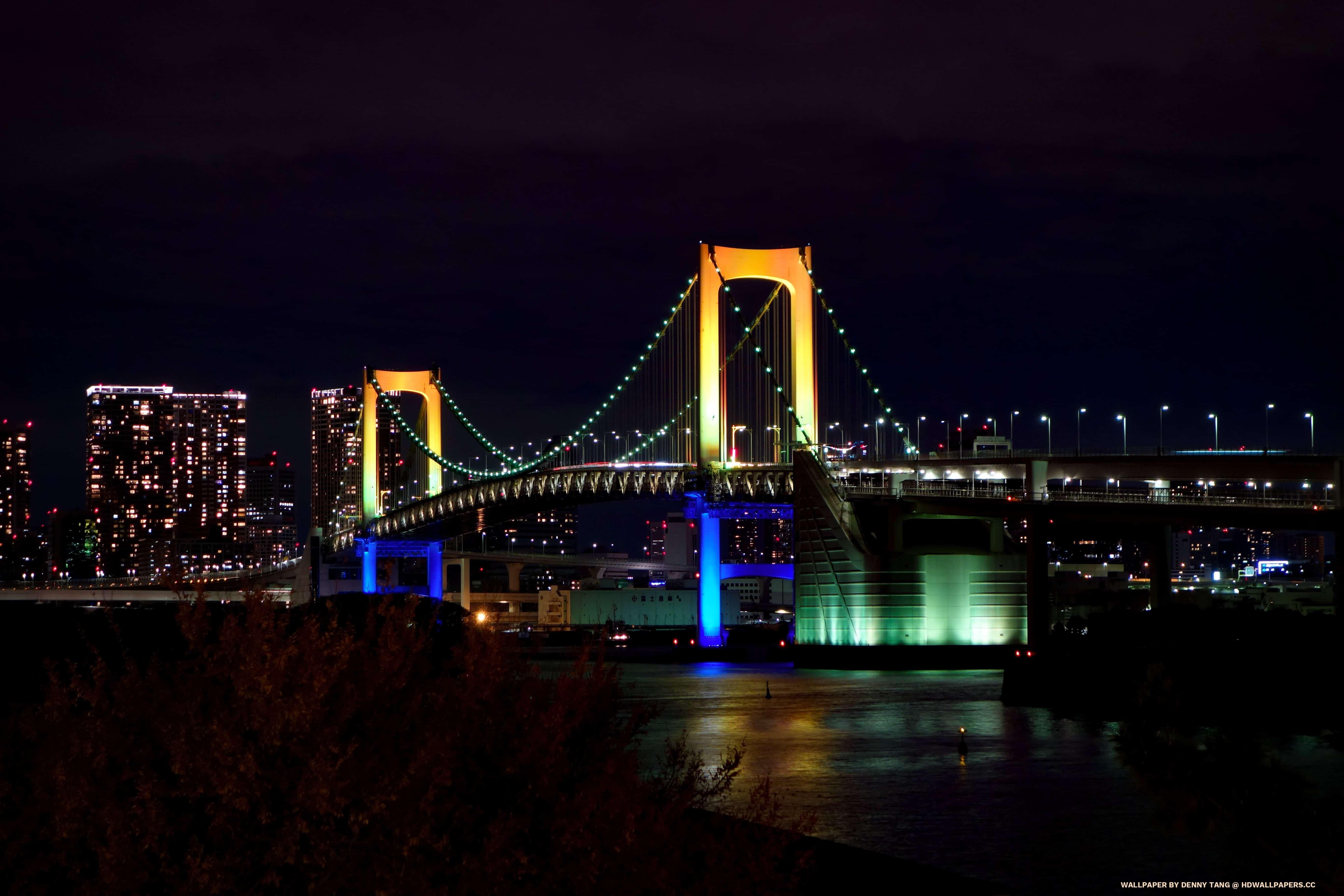 Niagara Falls Hd 1080p Wallpapers Rainbow Suspension Bridge In Tokyo Hd Wallpapers