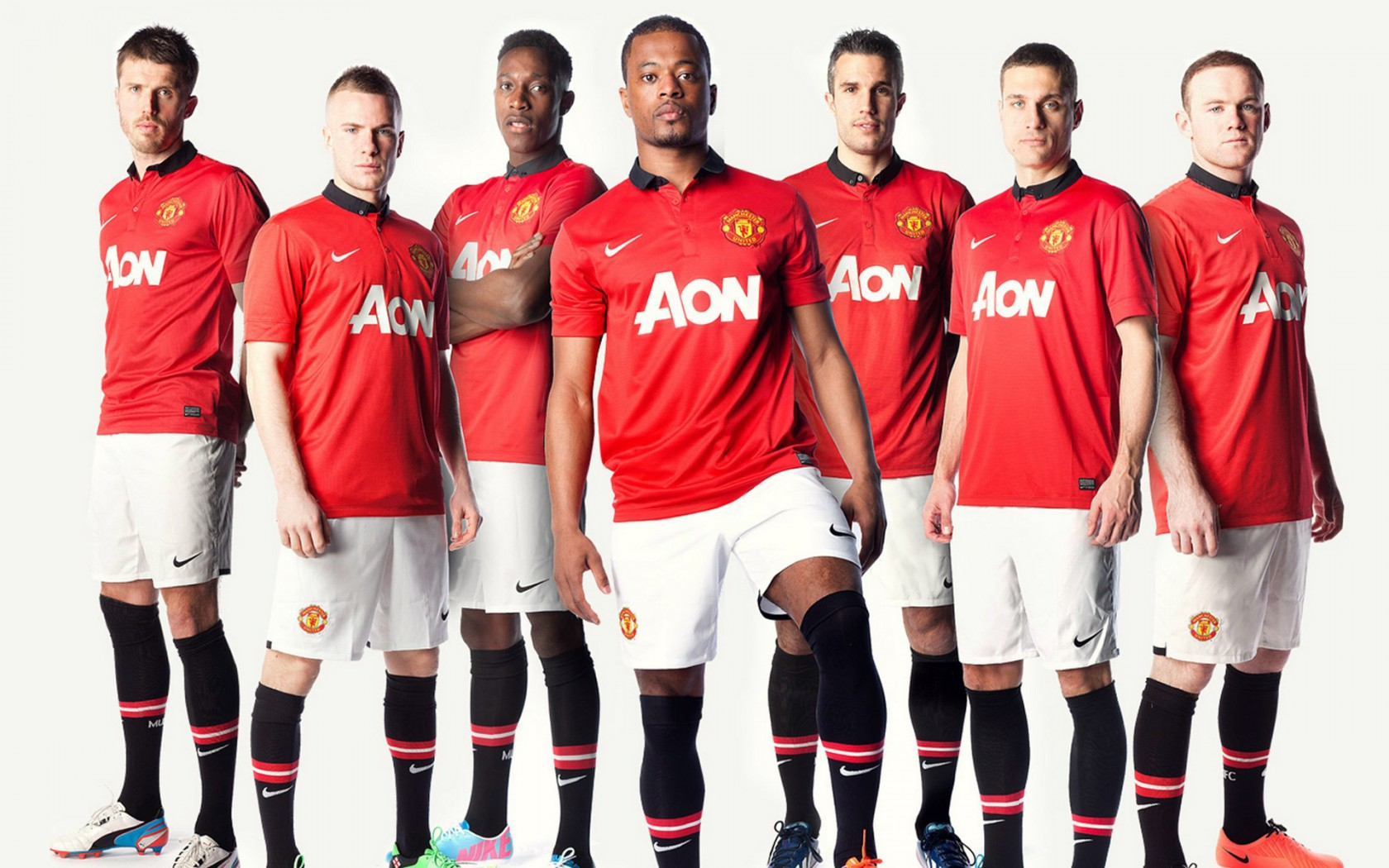 2014 Kit Man Utd Manchester United Team 2013 Wallpapers | Hd Wallpapers