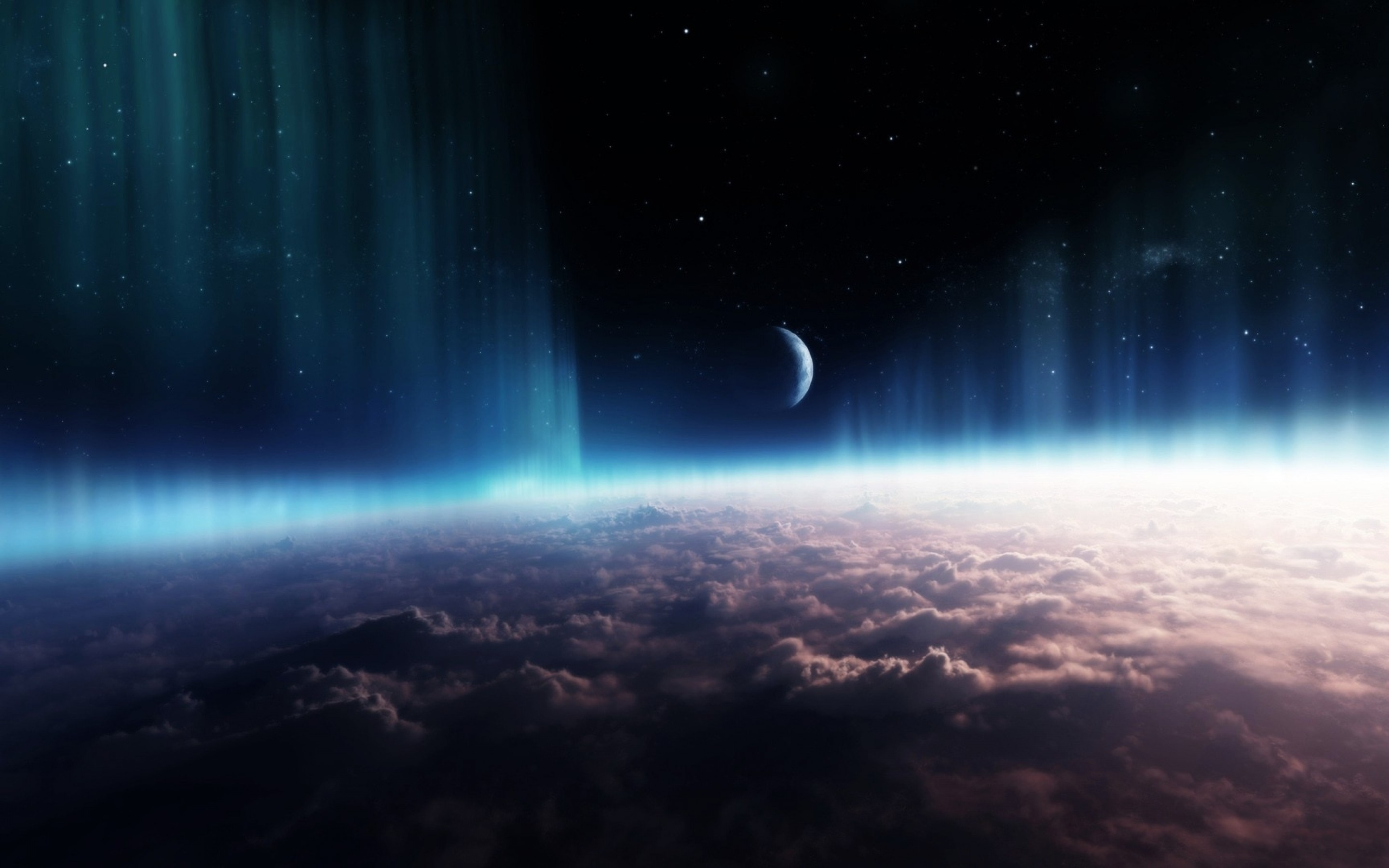 Wallpaper 3d Anime Space Wallpaper 26547 2880x1800px